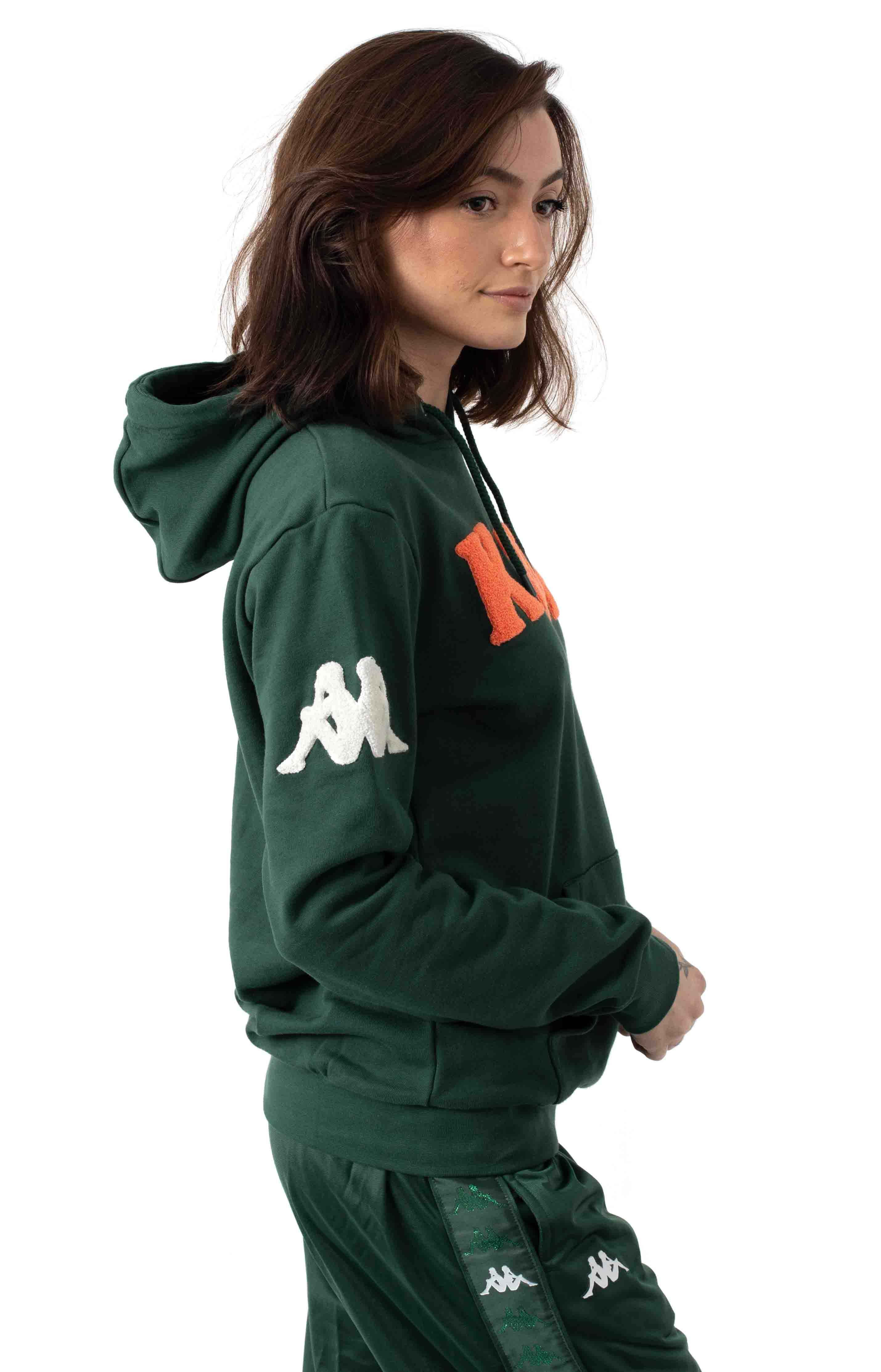Authentic Bluvi Pullover Hoodie - Green 2