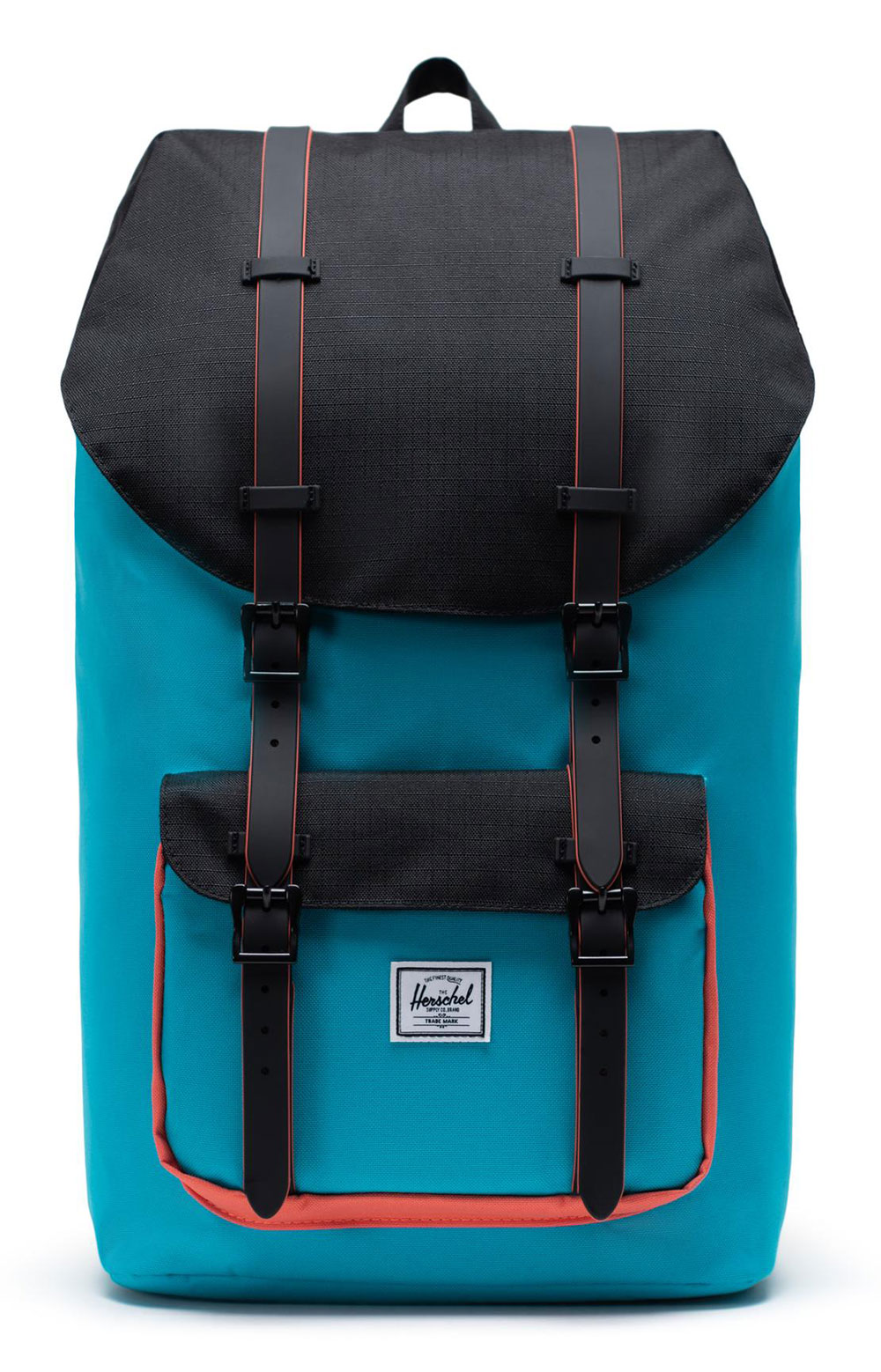 Little America Backpack - Blue Bird/Black/Emberglow