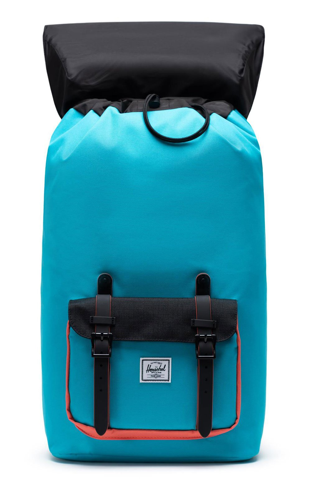 Little America Backpack - Blue Bird/Black/Emberglow 2
