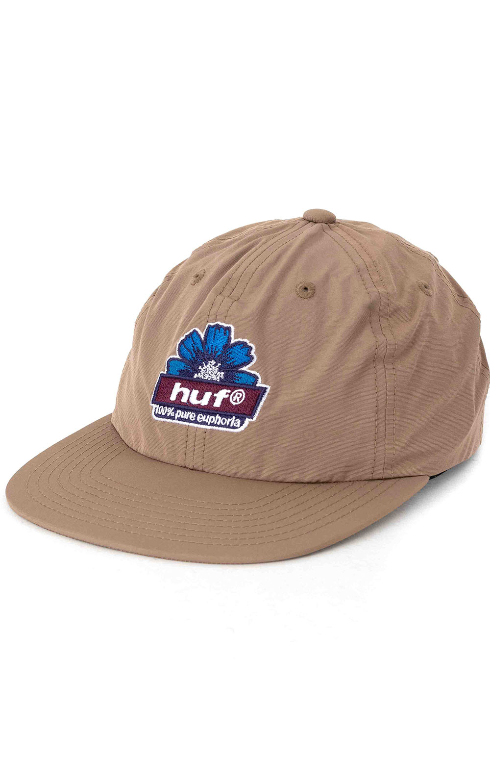 Pure 6 Panel Hat - Toffee