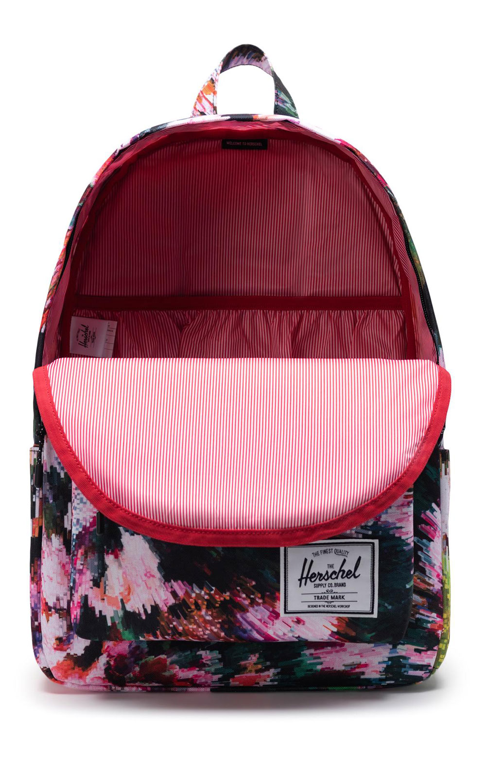 Classic Backpack XL - Pixel Floral  2