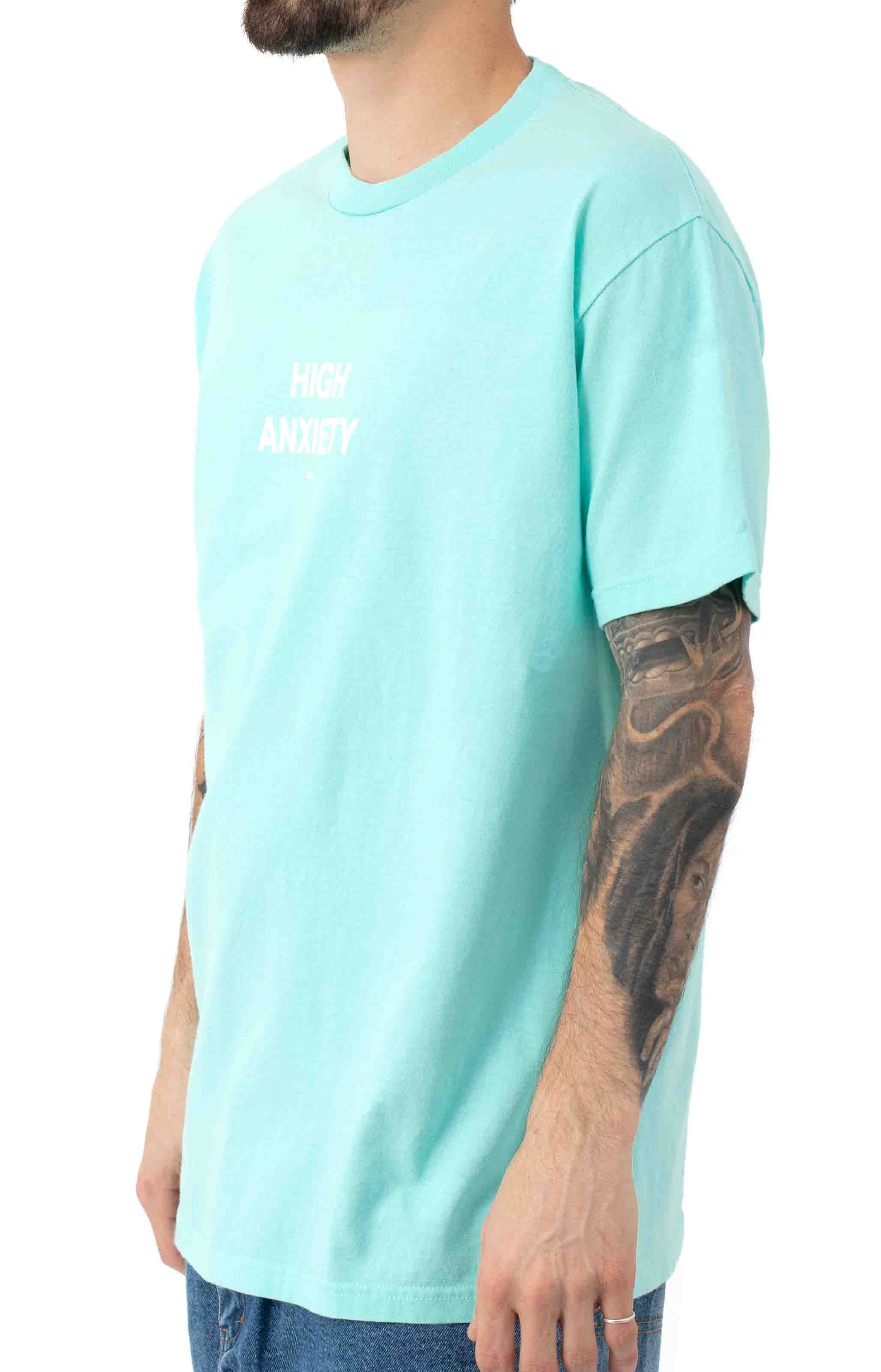High Anxiety T-Shirt - Mint  2