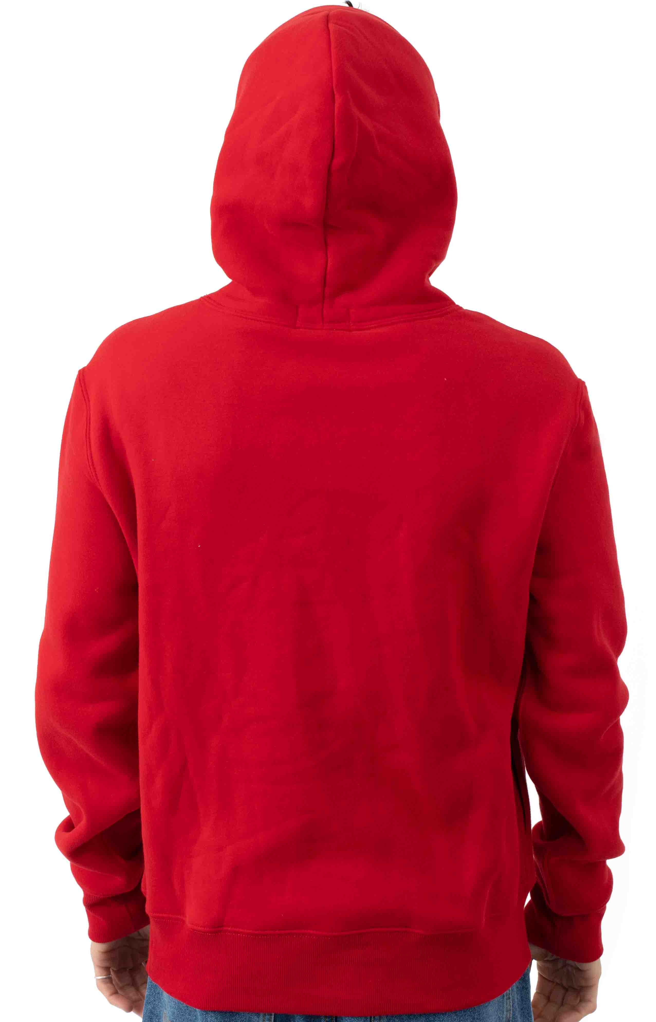 Polo Bear Racing Jacket Pullover Hoodie - Red 3