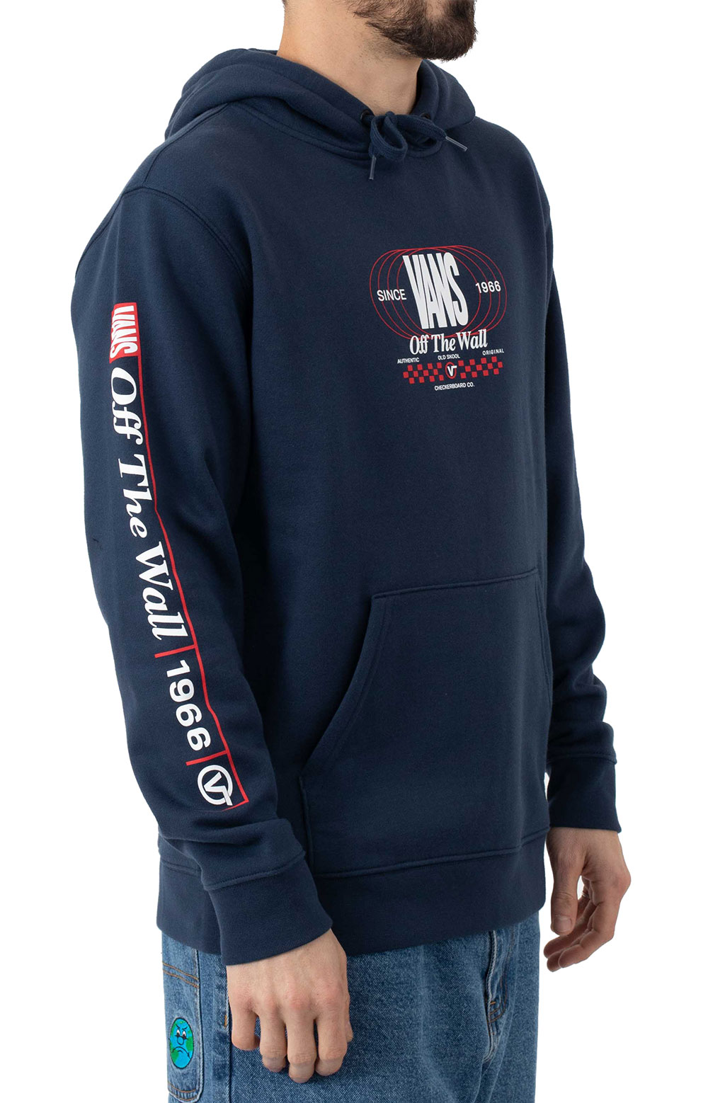 Frequency Pullover Hoodie - Dress Blue  2