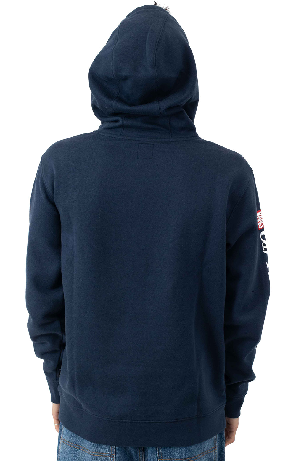 Frequency Pullover Hoodie - Dress Blue  3