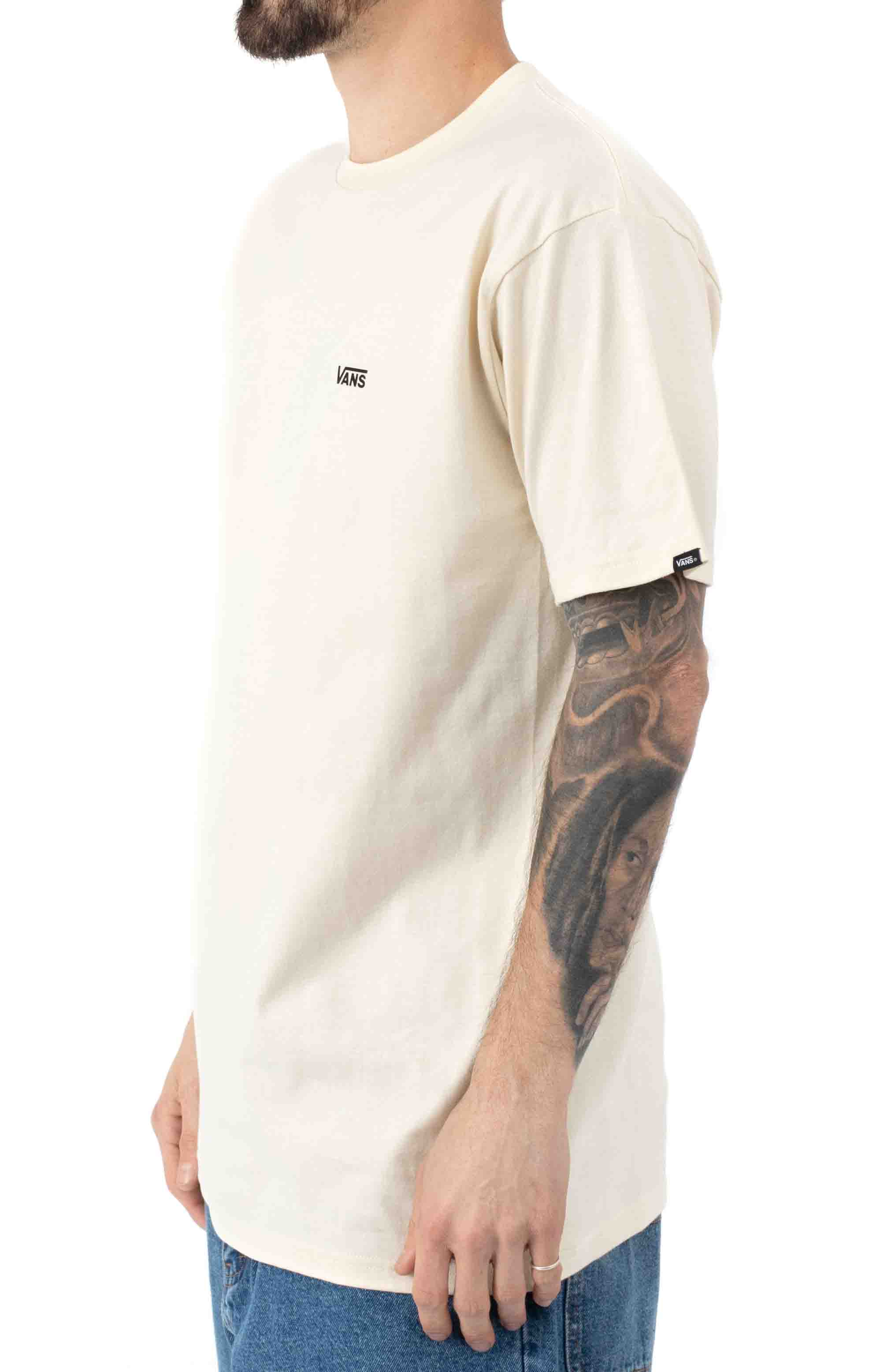 Left Chest Logo T-Shirt - Seed Pearl 2