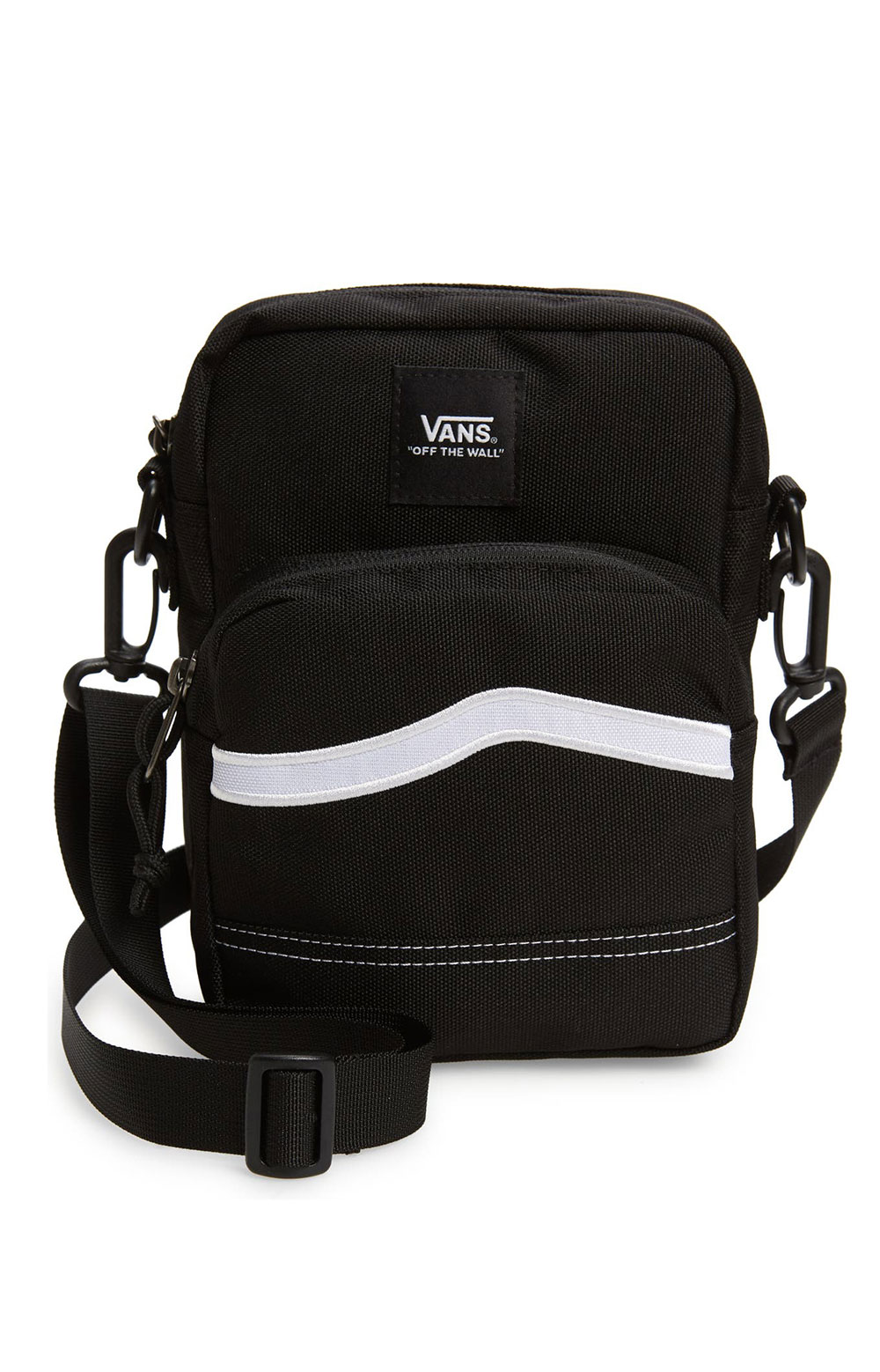 Construct Shoulder Bag- Black
