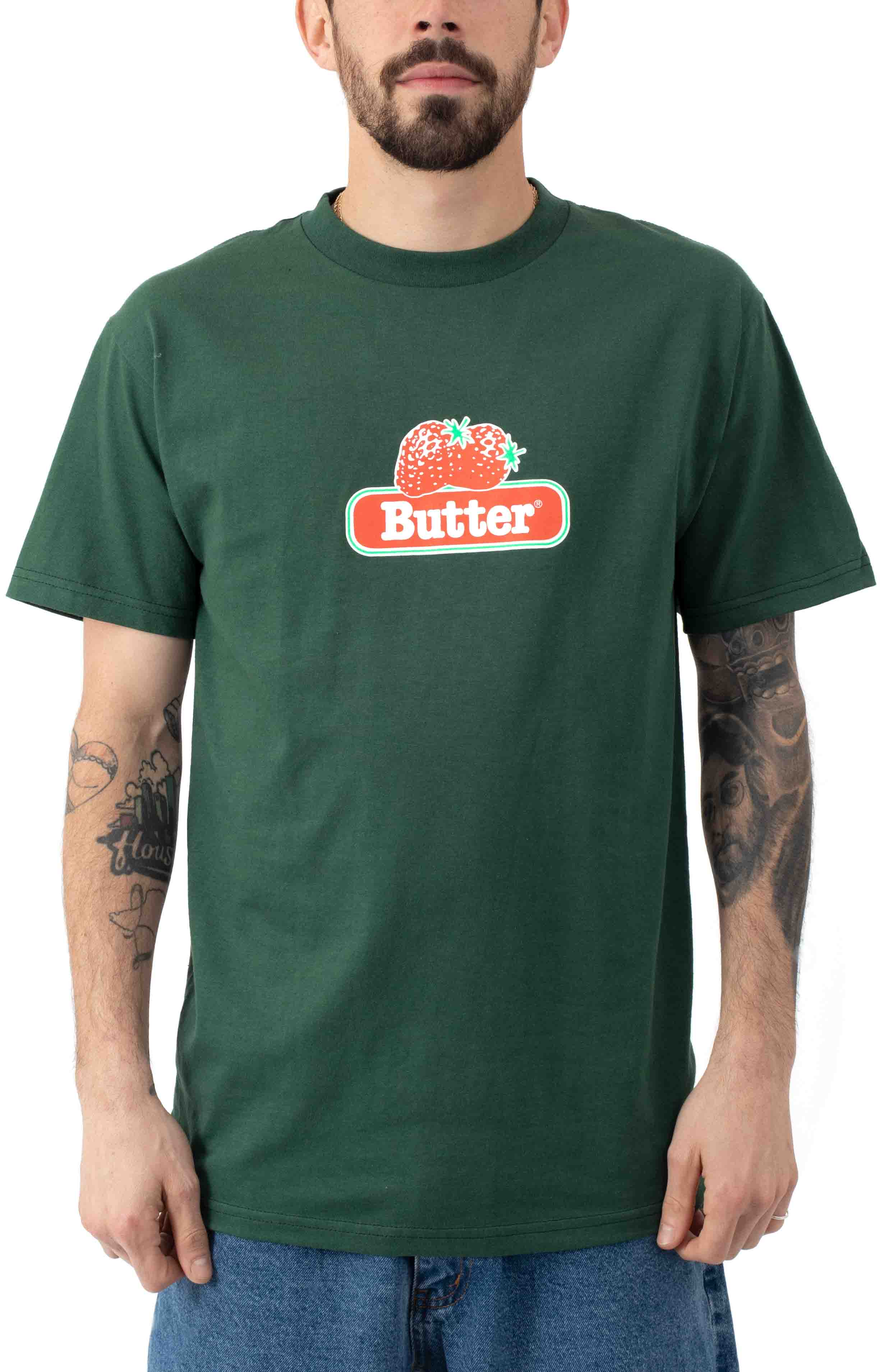 Berry T-Shirt - Forest