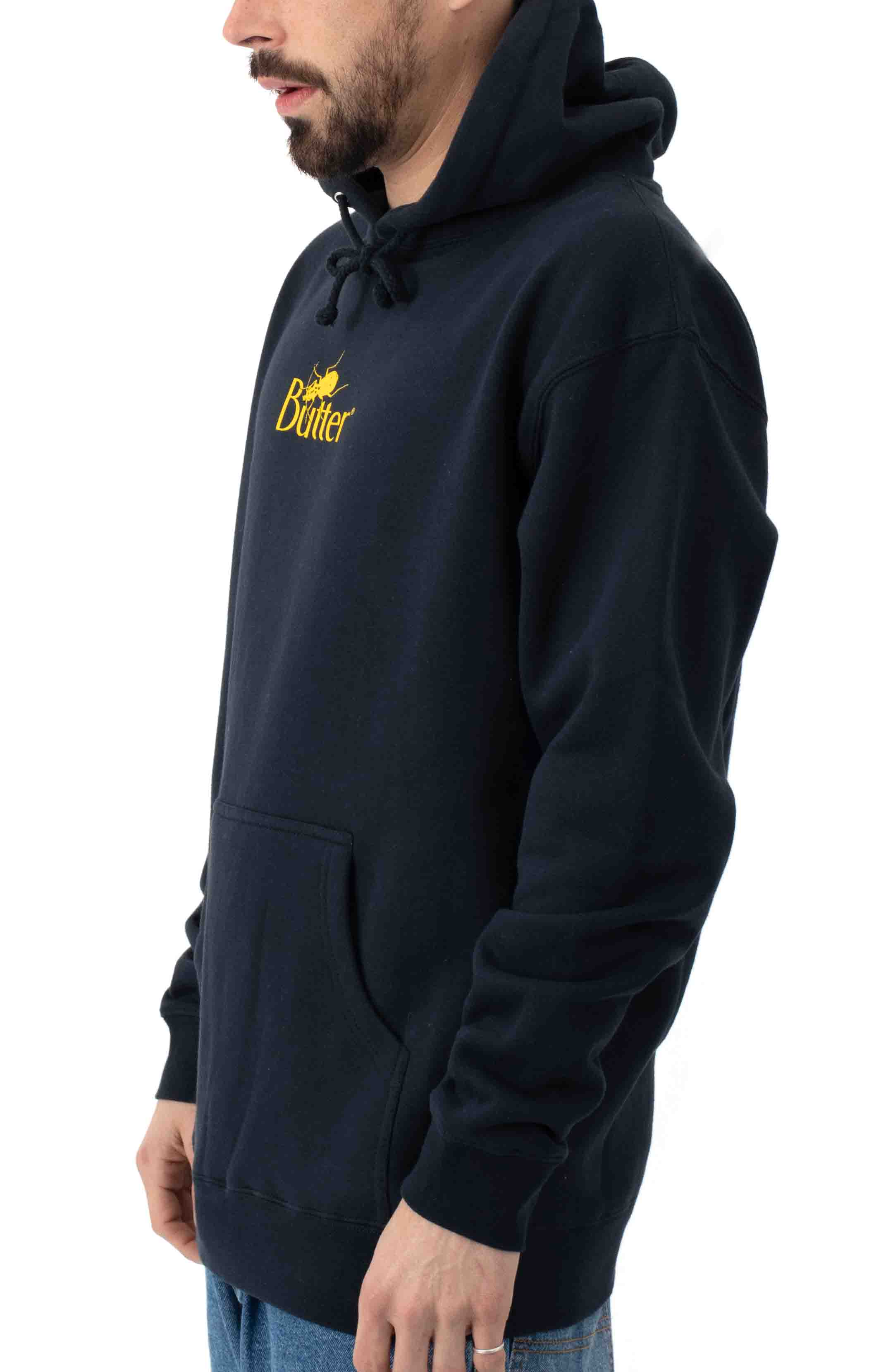 Bug Classic Logo Pullover Hoodie - Navy  2
