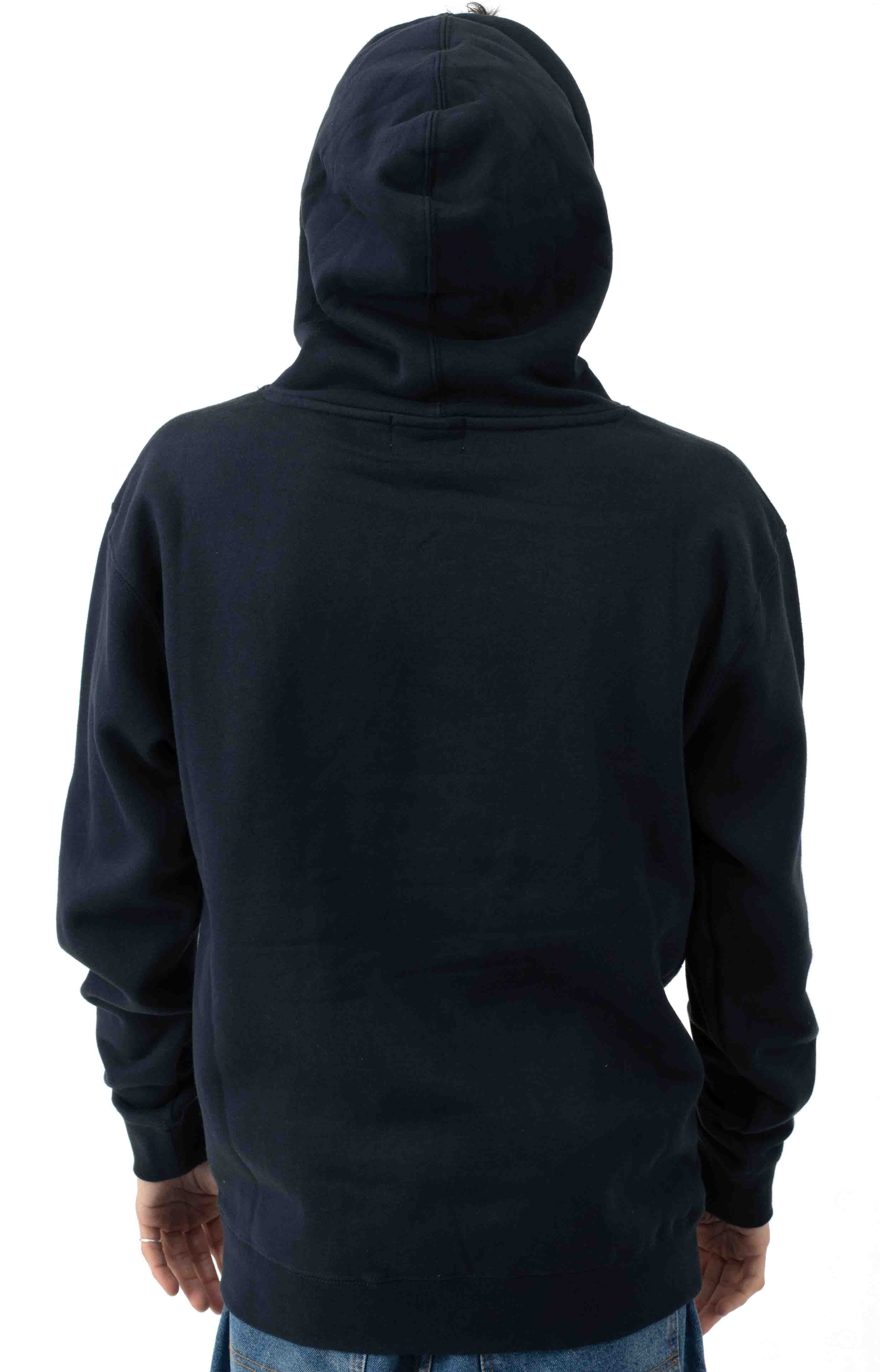 Bug Classic Logo Pullover Hoodie - Navy  3