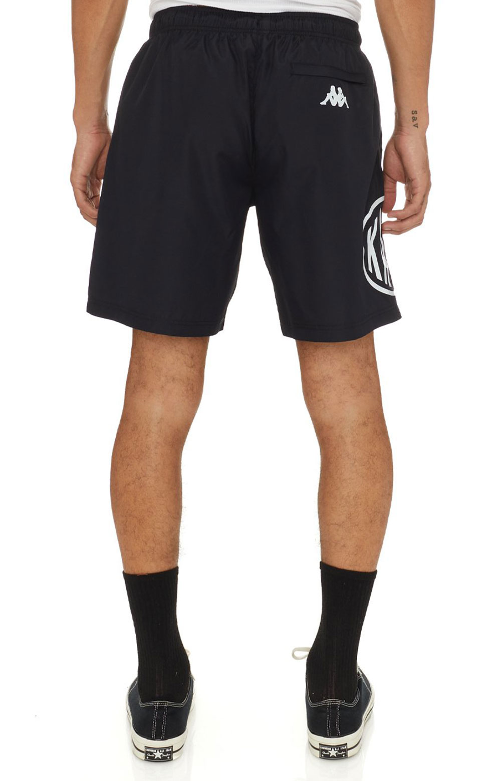 Authentic Pop Emay Shorts - Black/White  4