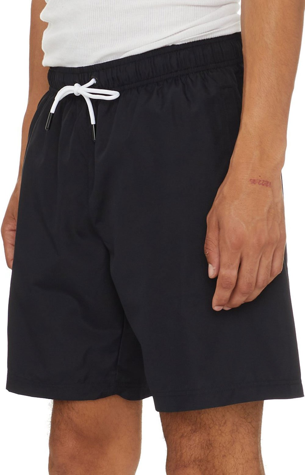 Authentic Pop Emay Shorts - Black/White  5