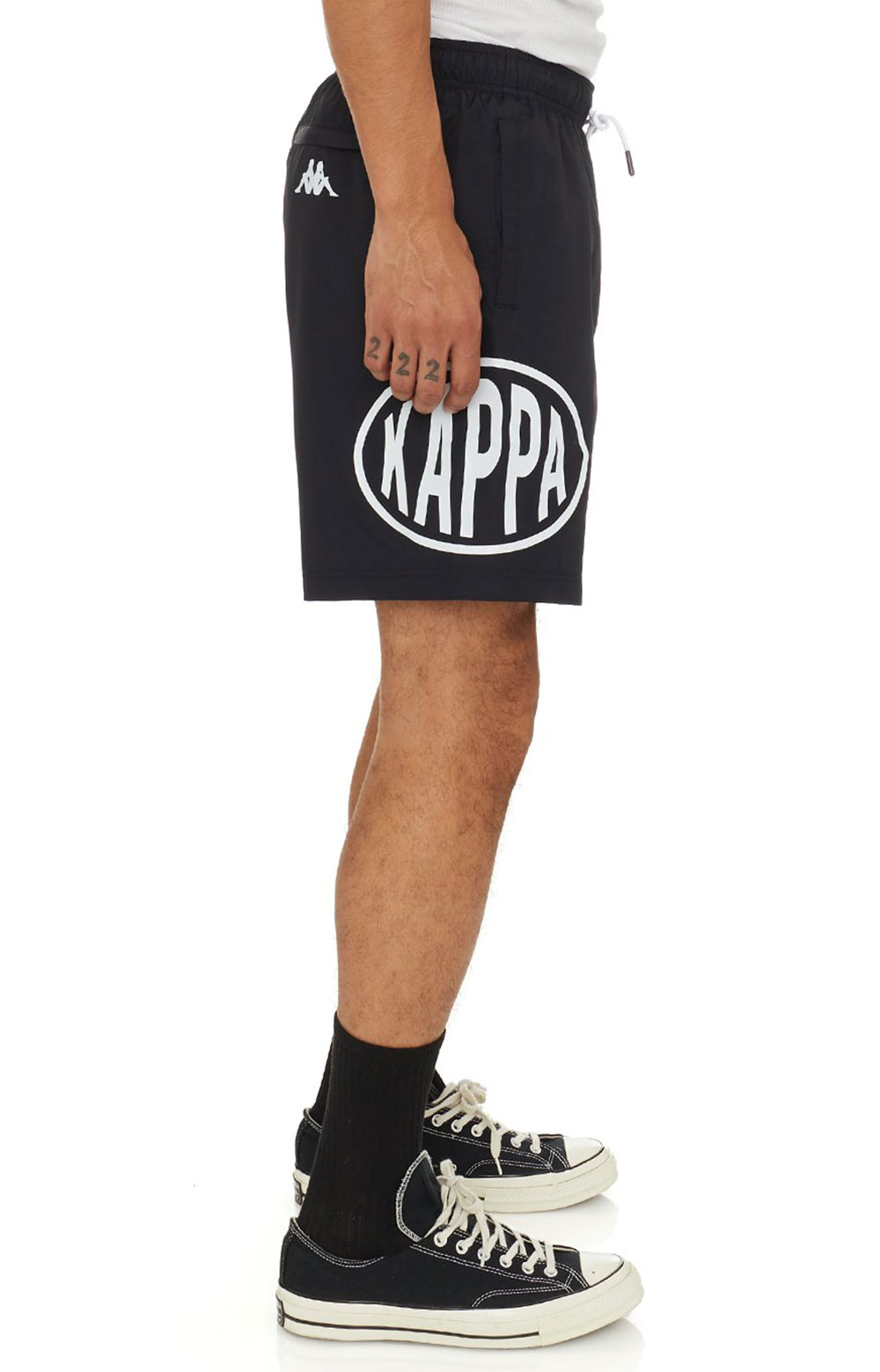 Authentic Pop Emay Shorts - Black/White  6