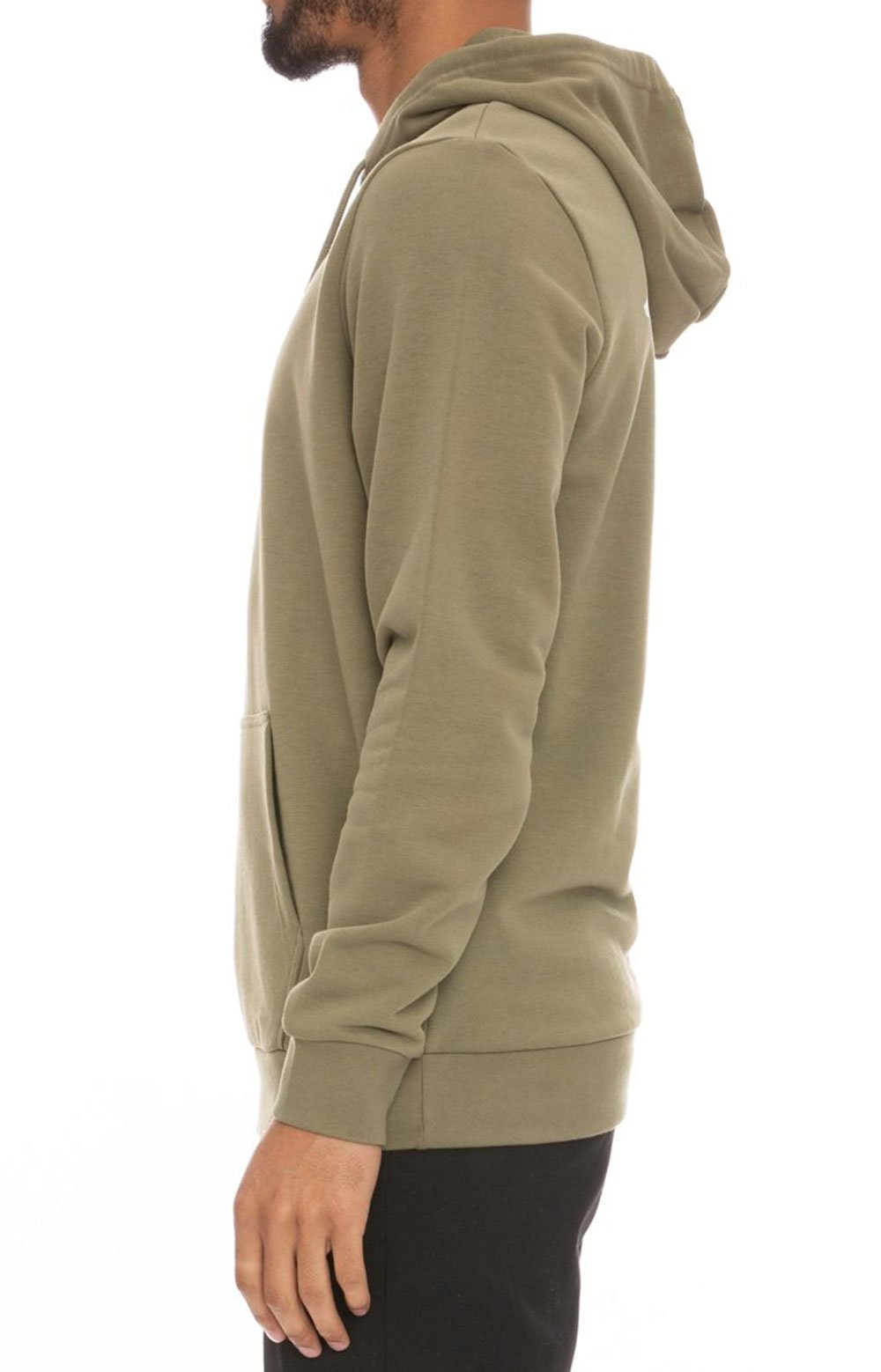 Authentic Haris Pullover Hoodie - Olive Green/Light Green/White  3