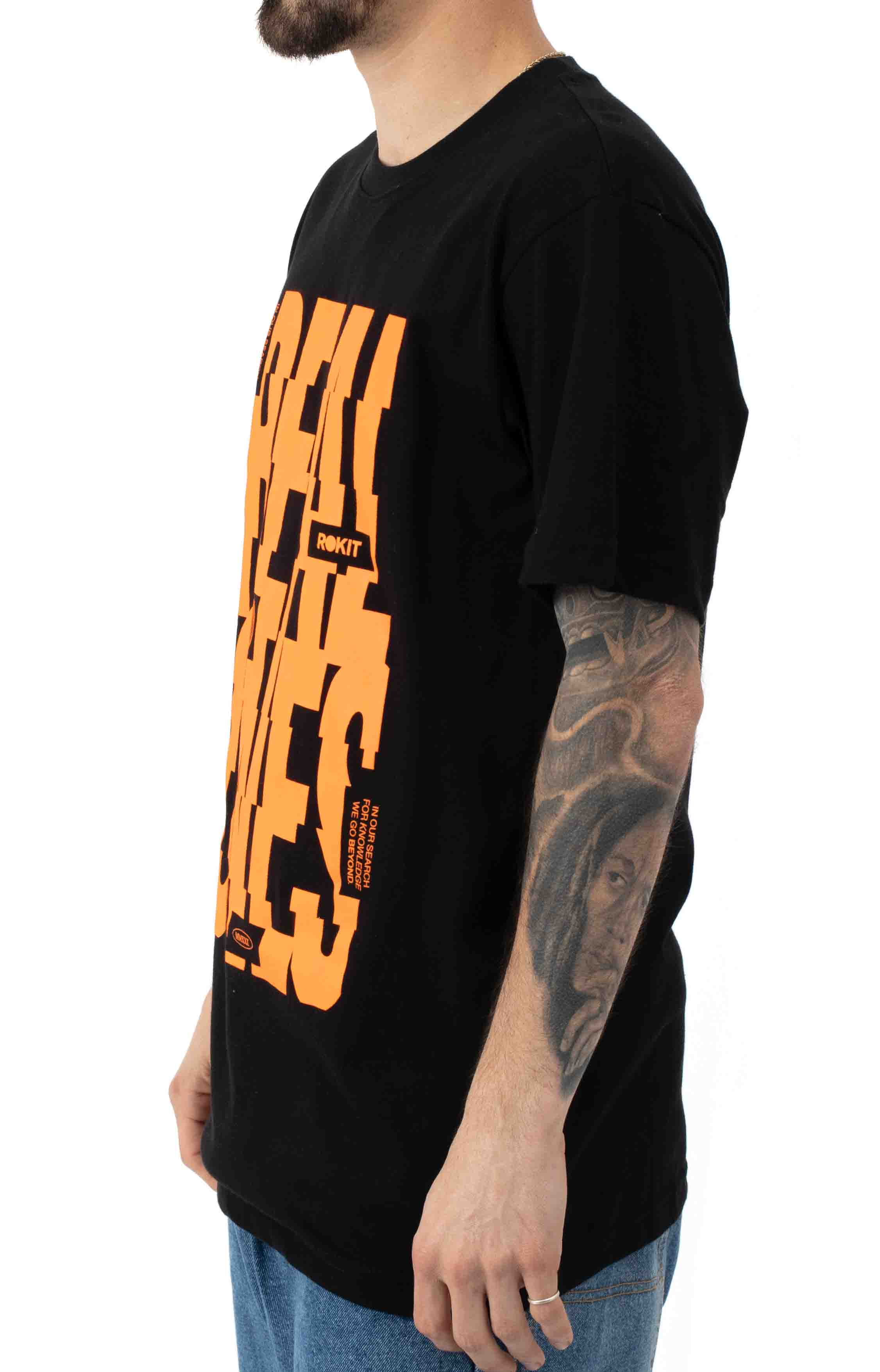 Stacked T-Shirt - Black 2