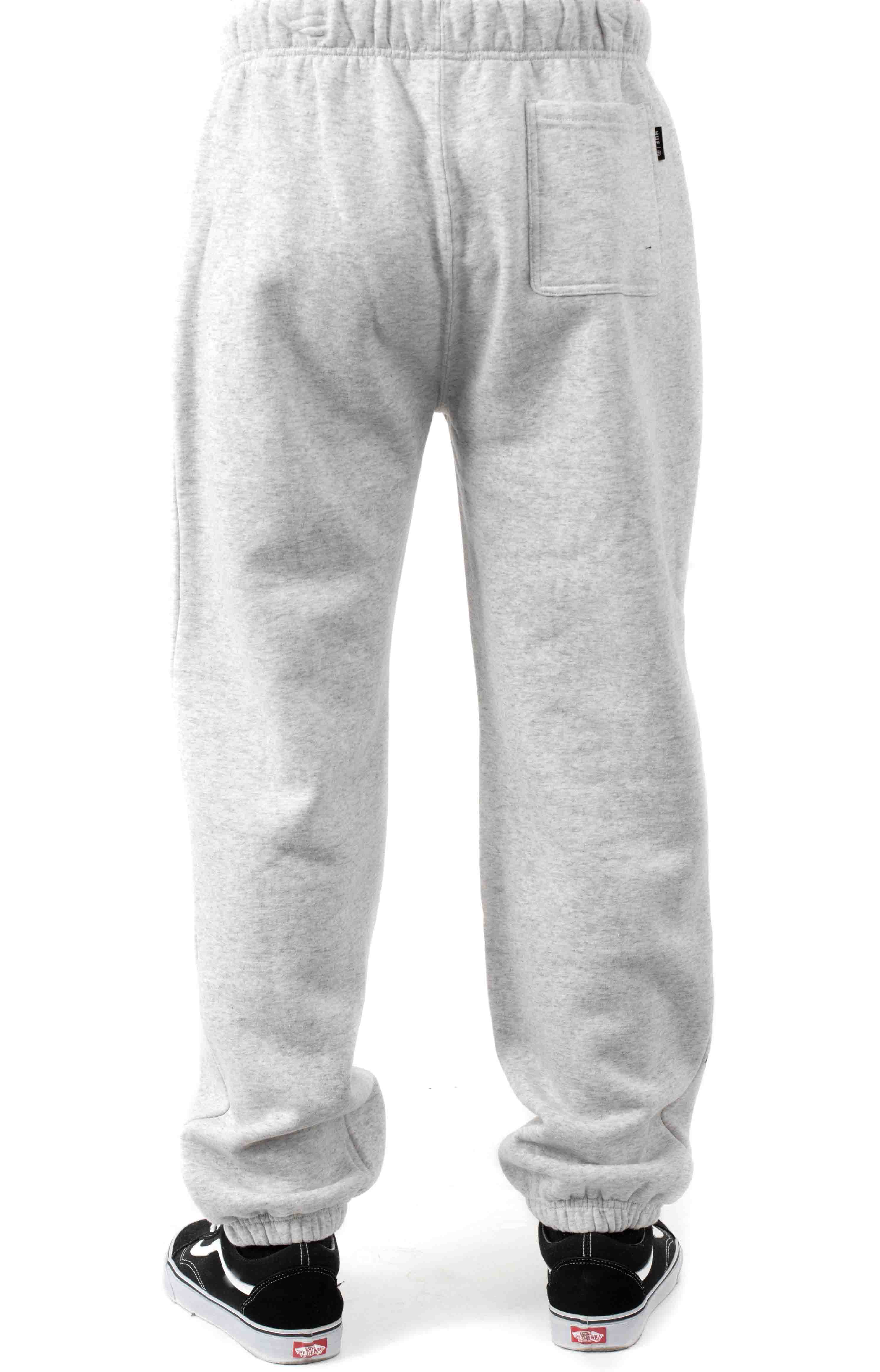 Pushing Daisies TT Fleece Pants - Heather Grey  3