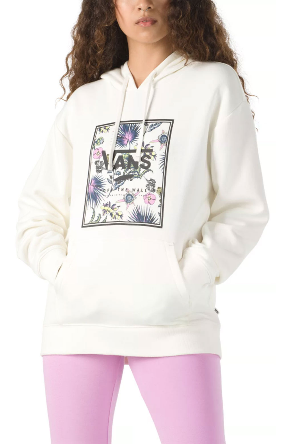 Califas Boxed In Pullover Hoodie - Marshmallow