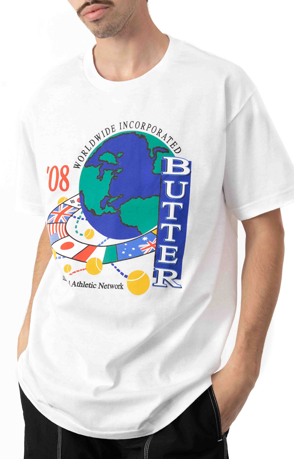 Athletic Network T-Shirt - White