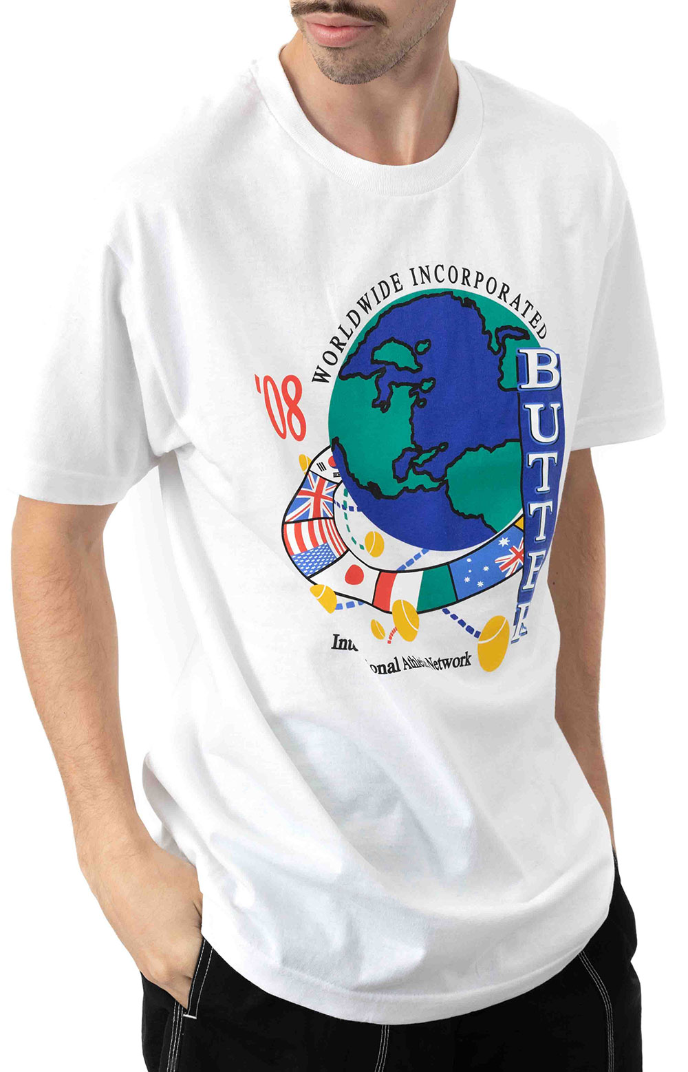 Athletic Network T-Shirt - White  2