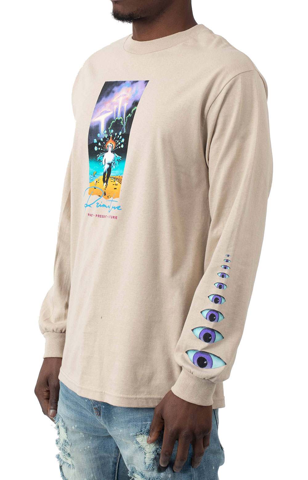 Systems L/S Shirt - Sand  2