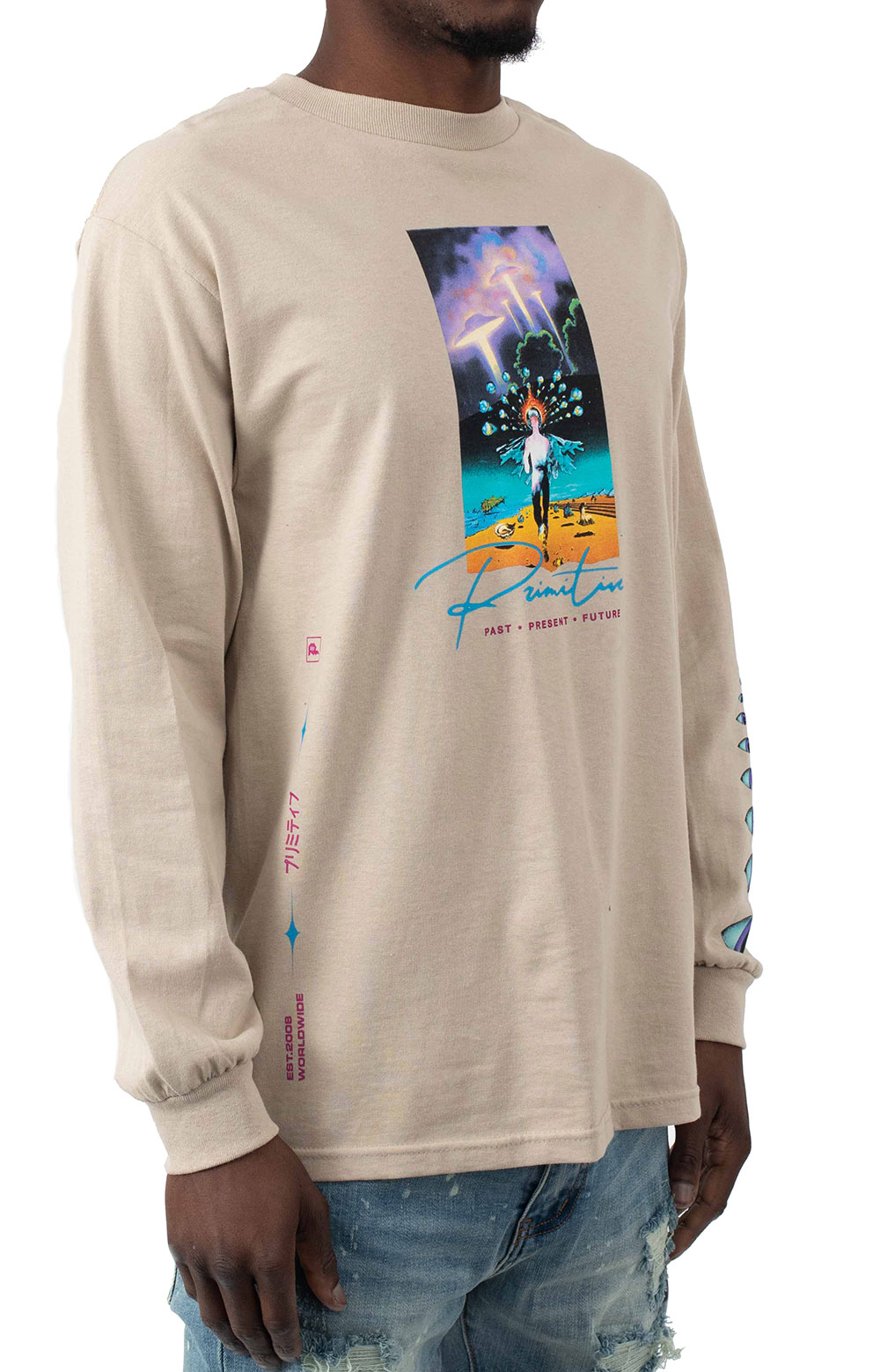 Systems L/S Shirt - Sand  3