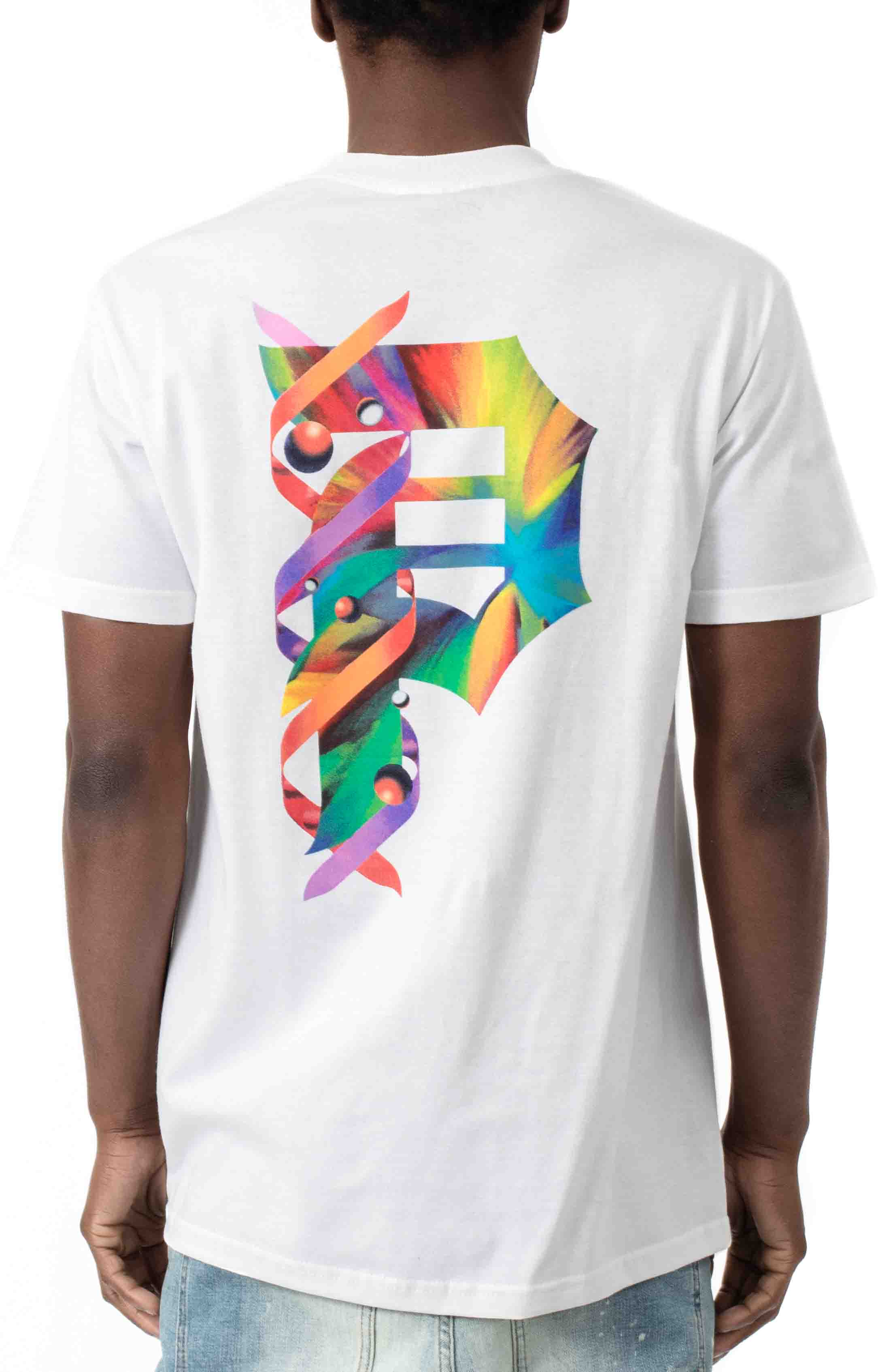 Dirty P Particles T-Shirt - White  3