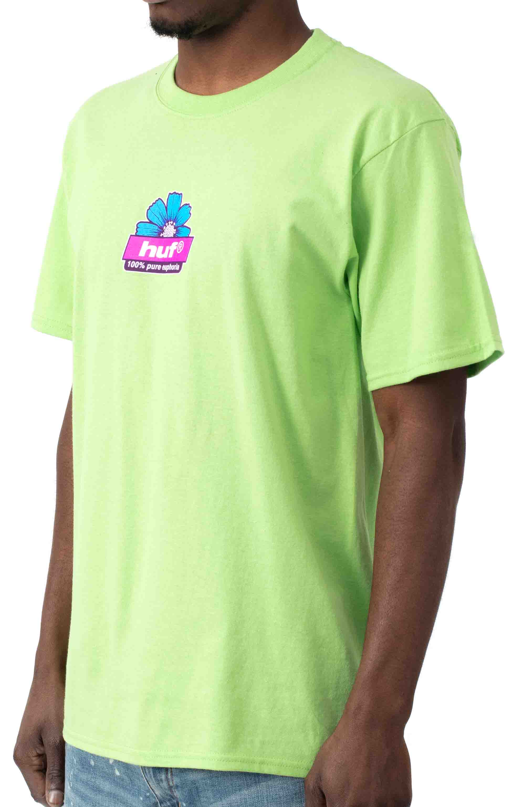 Pure T-Shirt - Lime  2