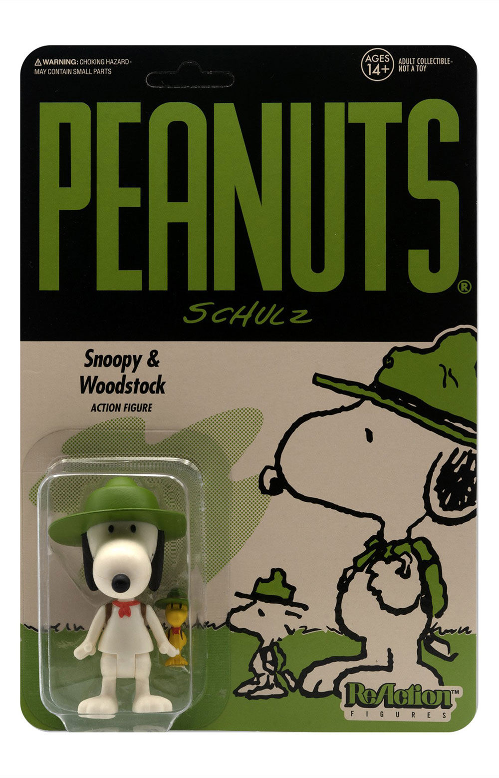 Peanuts ReAction Wave 3 - Beagle Scout Snoopy 2