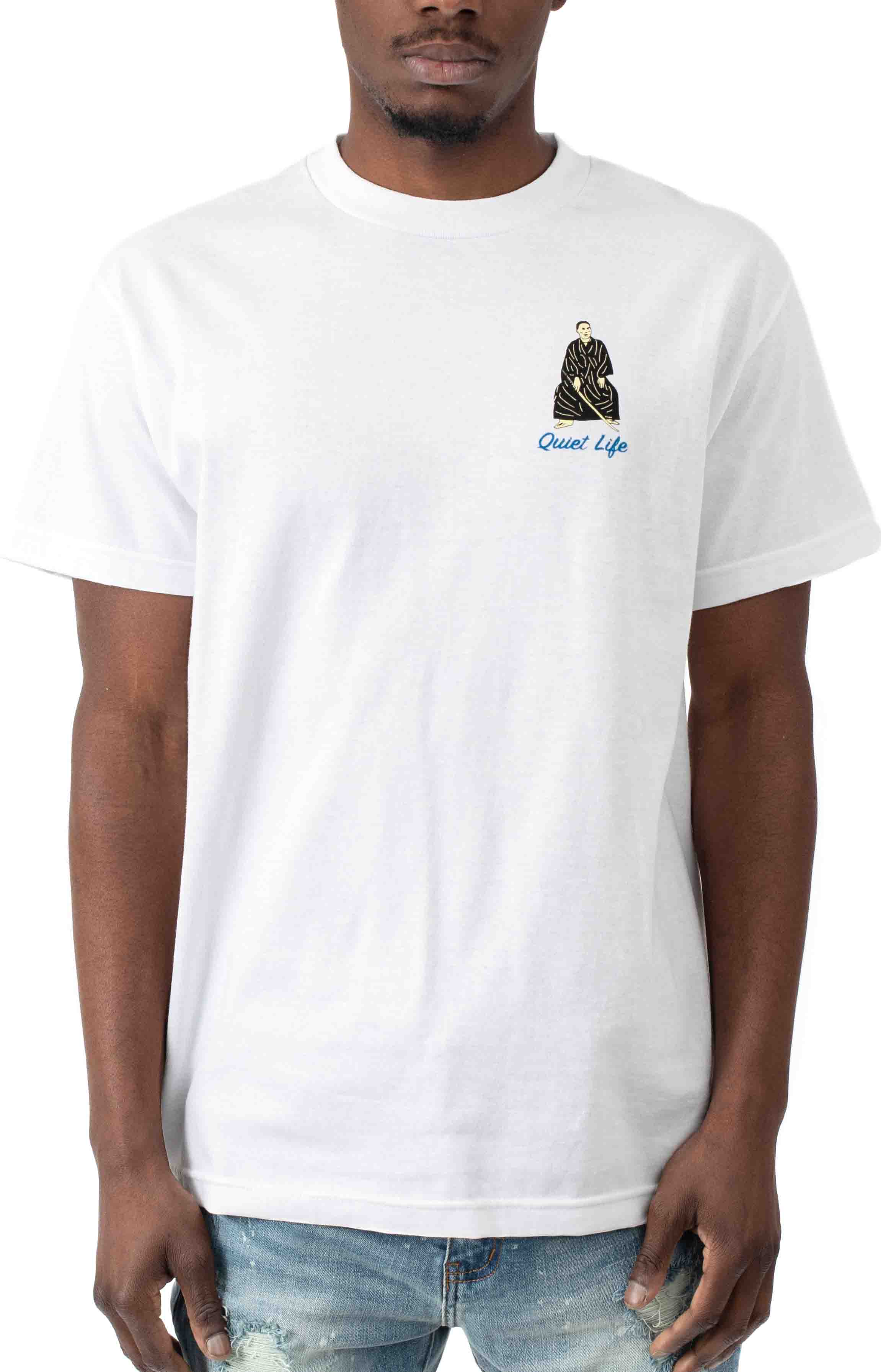 Never Give Up On Fun T-Shirt - White  2