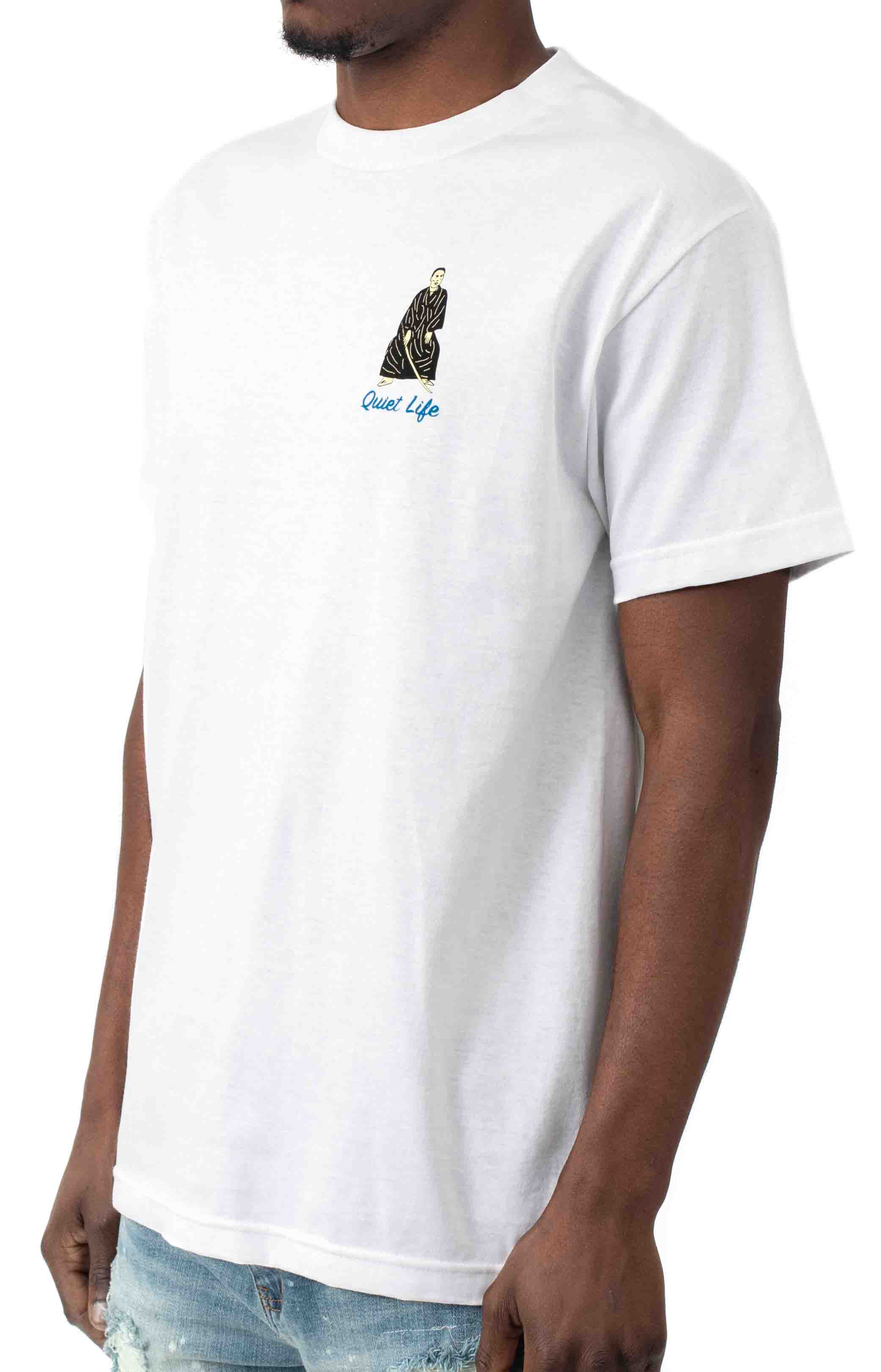 Never Give Up On Fun T-Shirt - White  3
