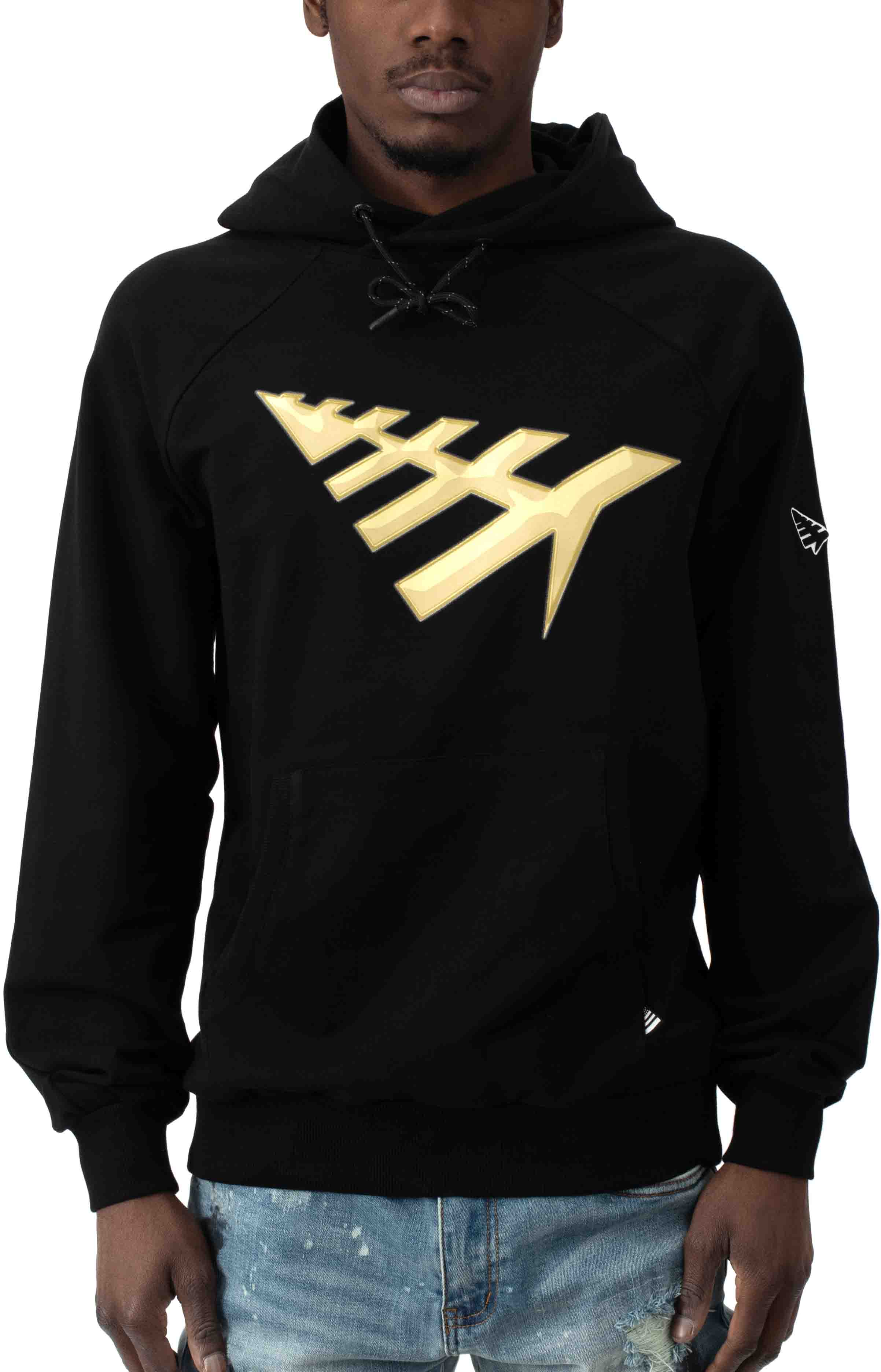All Points Pullover Hoodie - Black