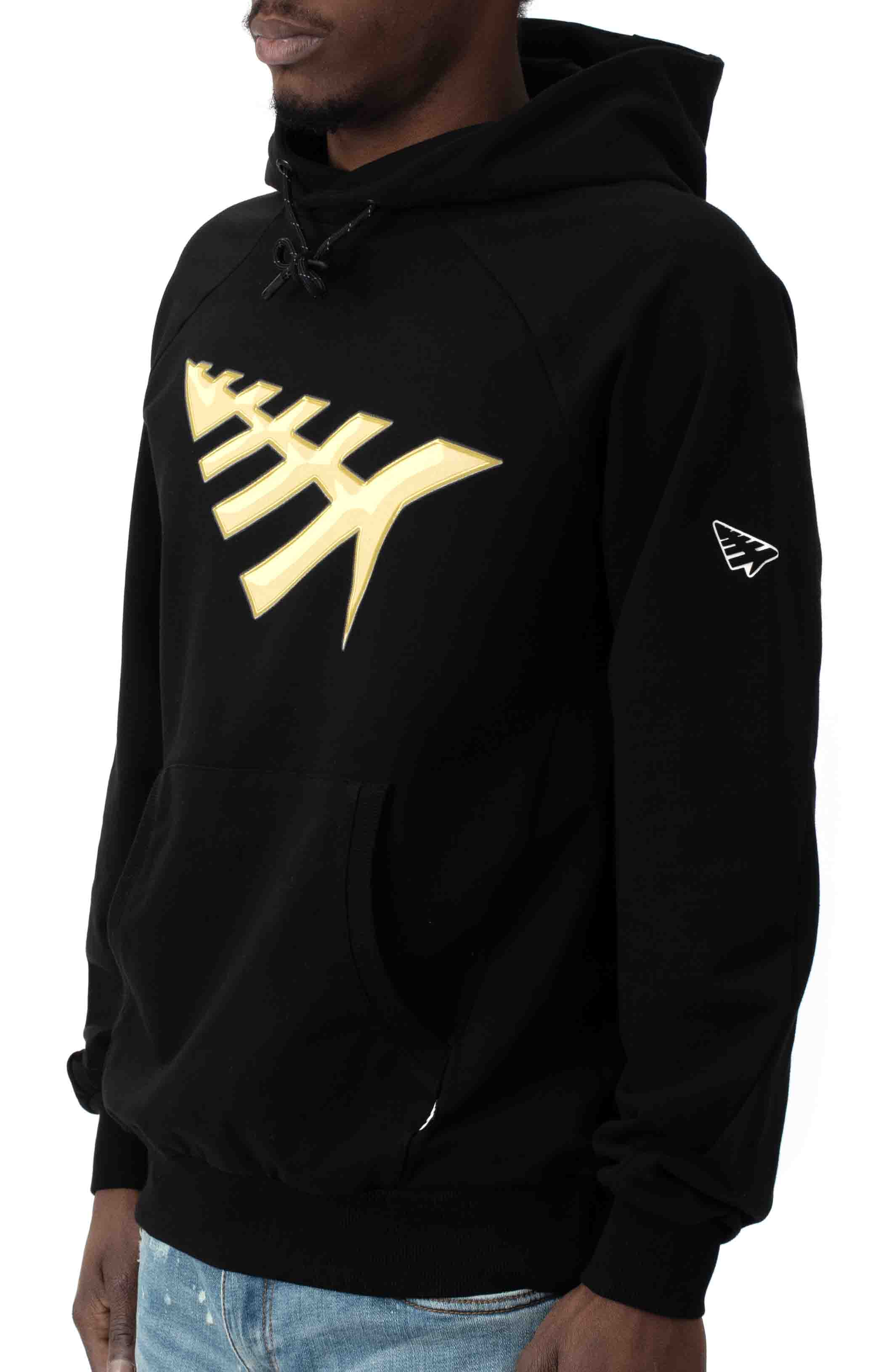 All Points Pullover Hoodie - Black 2