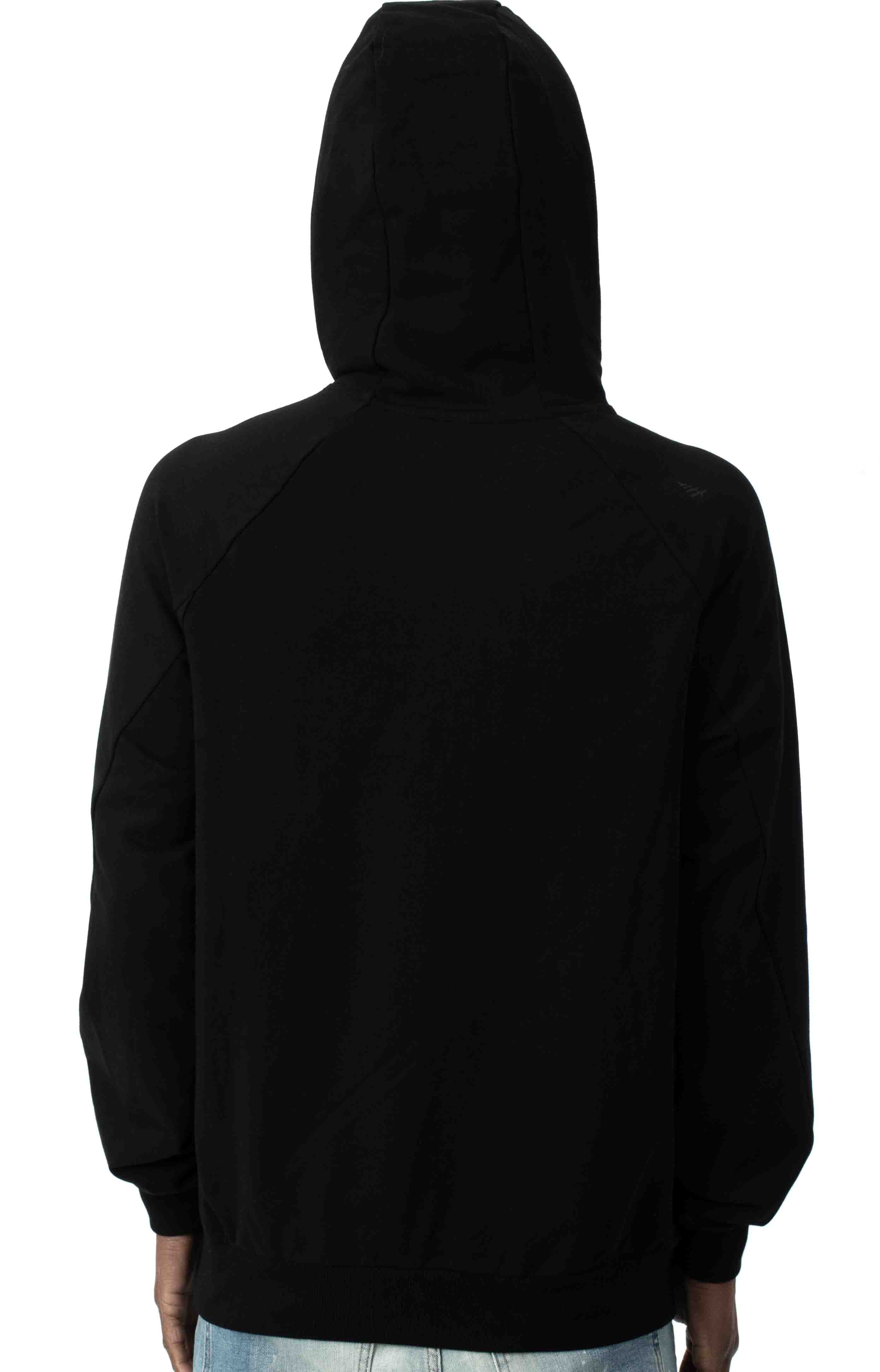 All Points Pullover Hoodie - Black 3