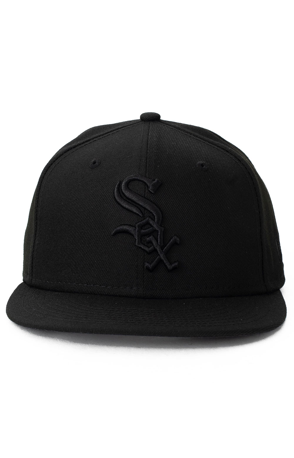 9Fifty Color Pack Snap-Back Hat - Chicago White Sox Black  2