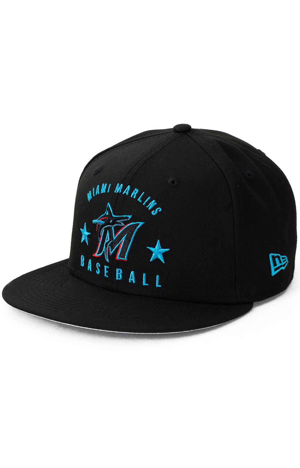 9Fifty Arched Miami Marlins Snap-Back Hat