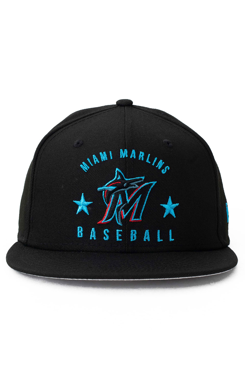 9Fifty Arched Miami Marlins Snap-Back Hat 2