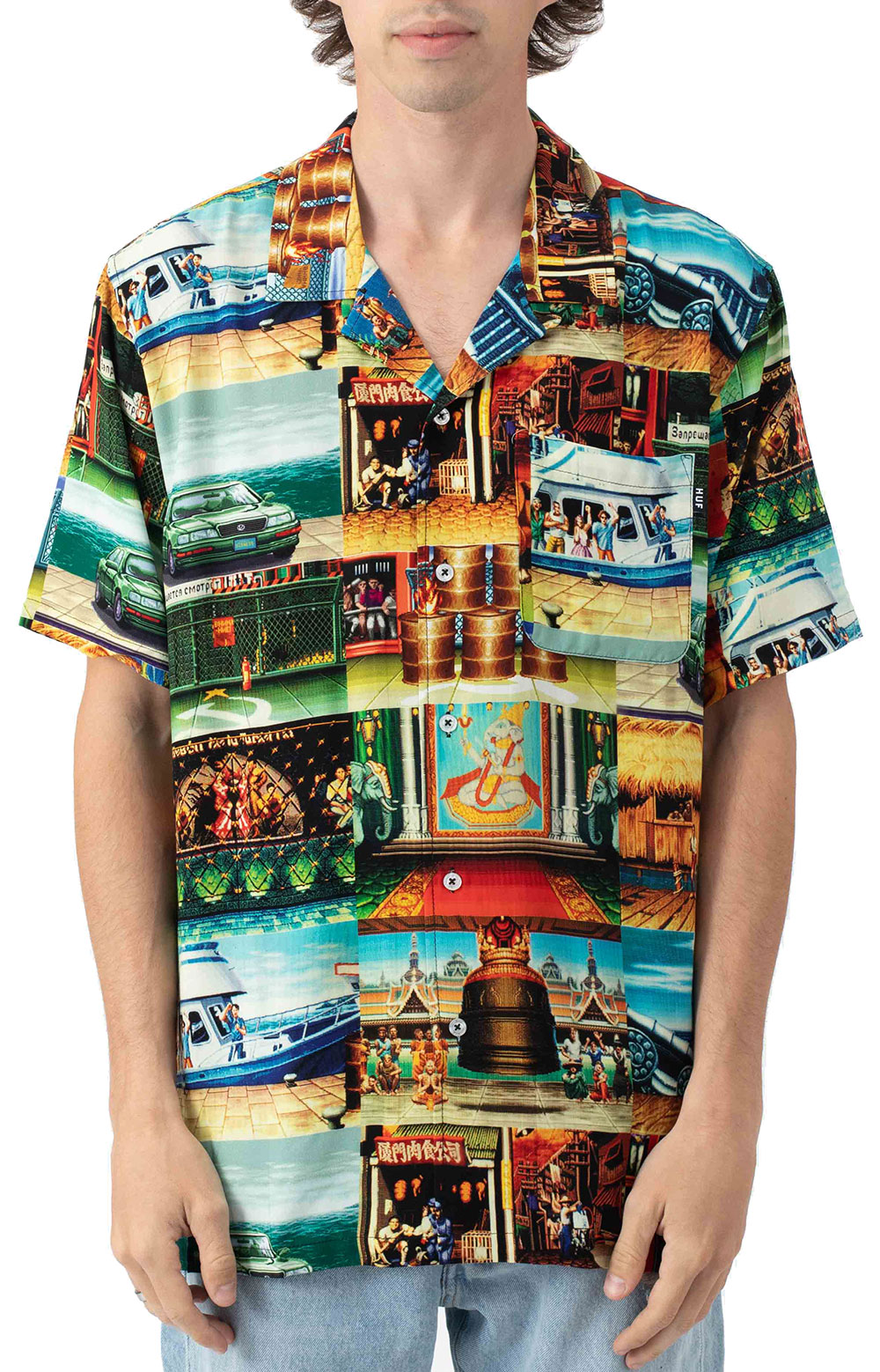Stages Resort Button-Up Shirt