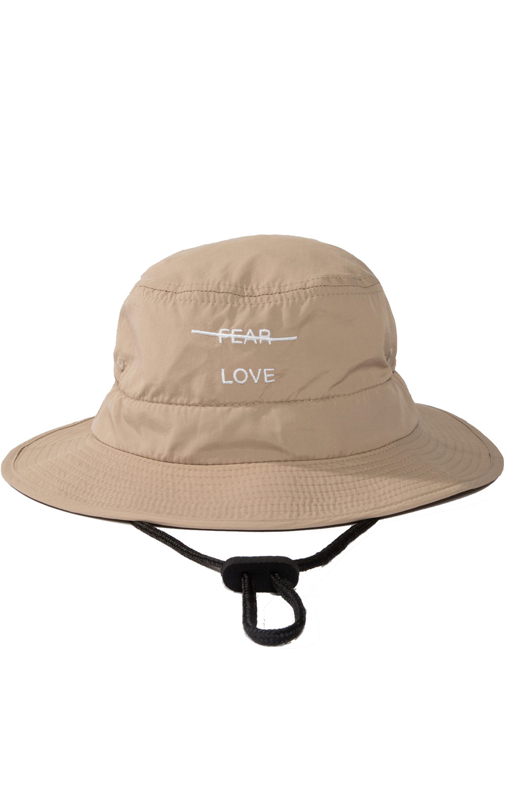 Love Over Fear Guide Hat - Tan