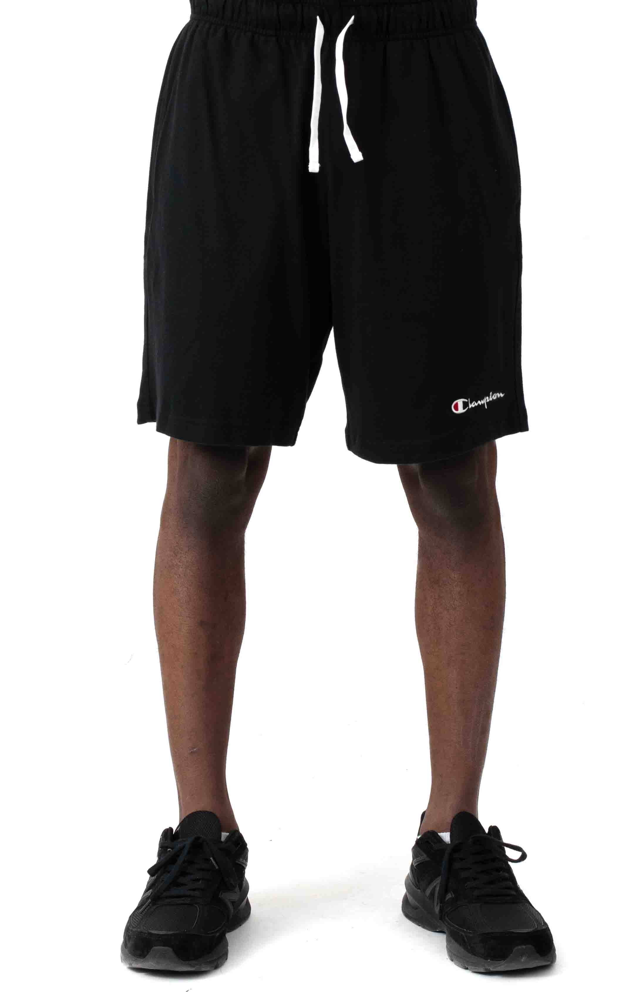 Heavyweight Jersey Shorts - Black 2