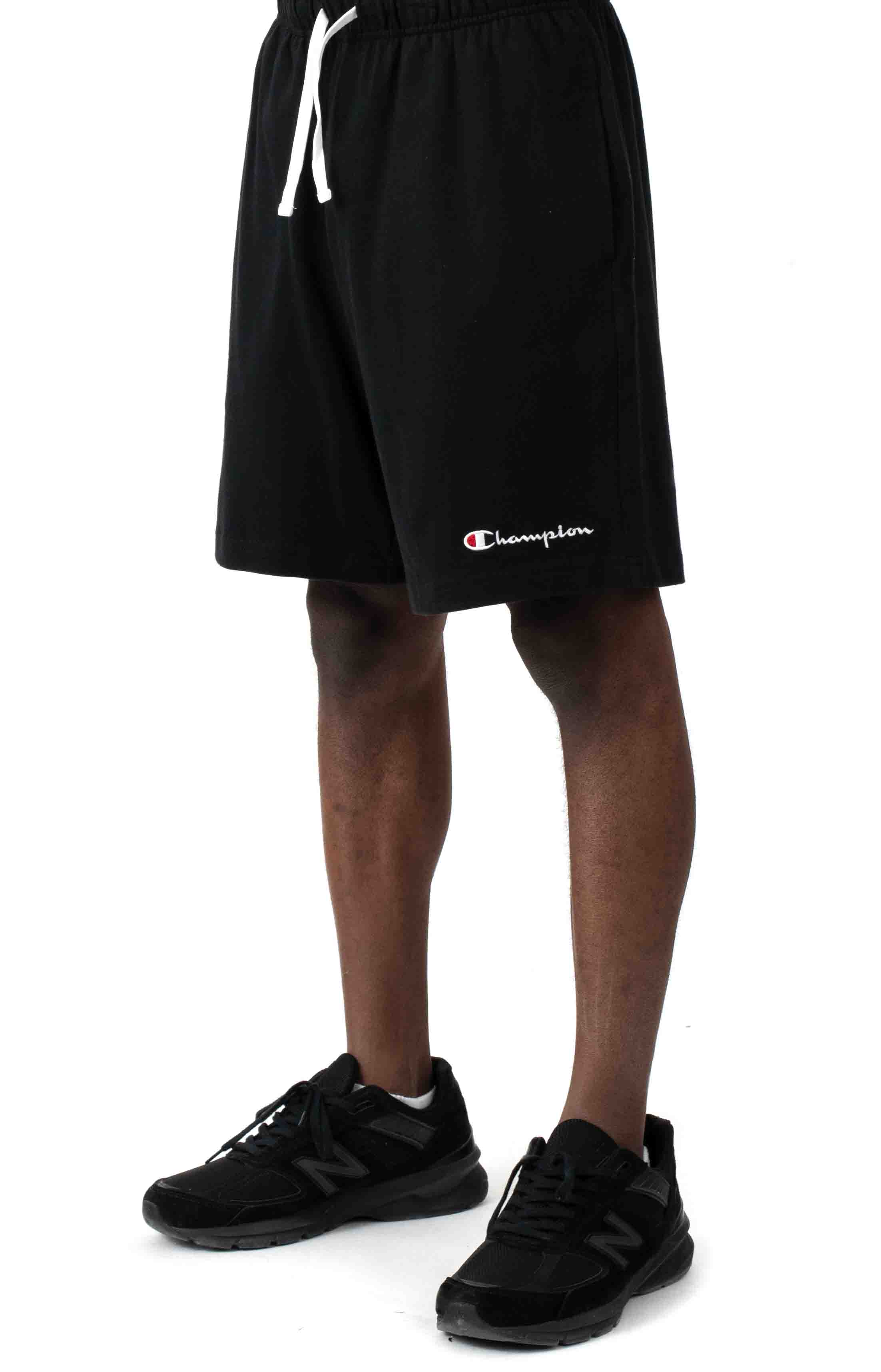 Heavyweight Jersey Shorts - Black