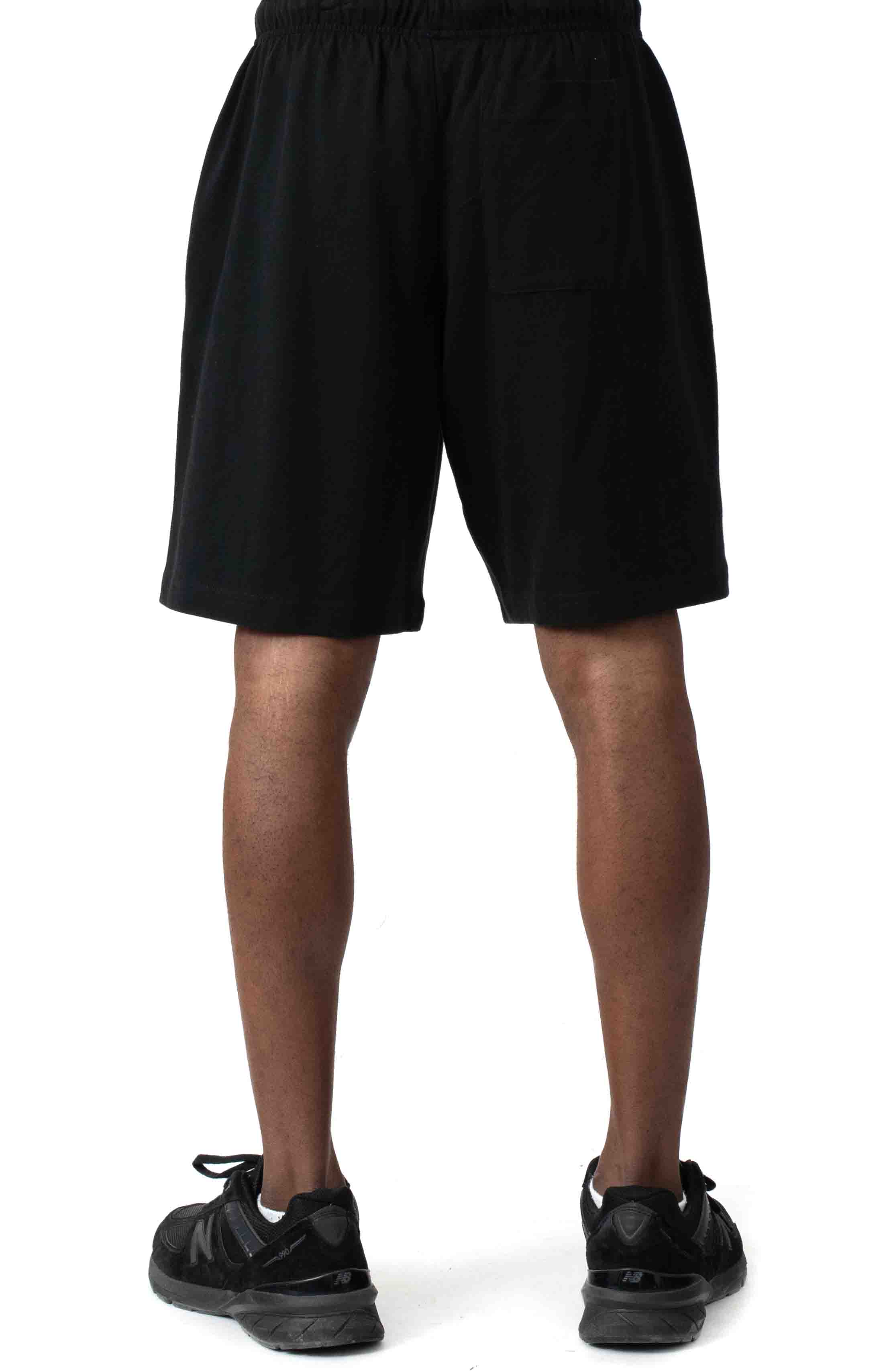 Heavyweight Jersey Shorts - Black 3