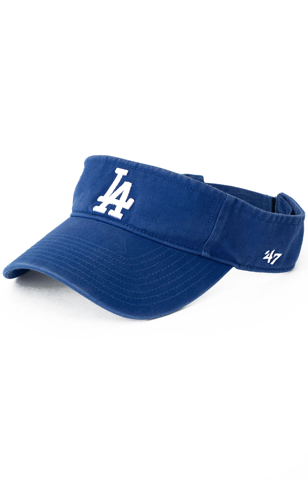 LA Dodgers 47 Clean Up Visor - Royal Blue