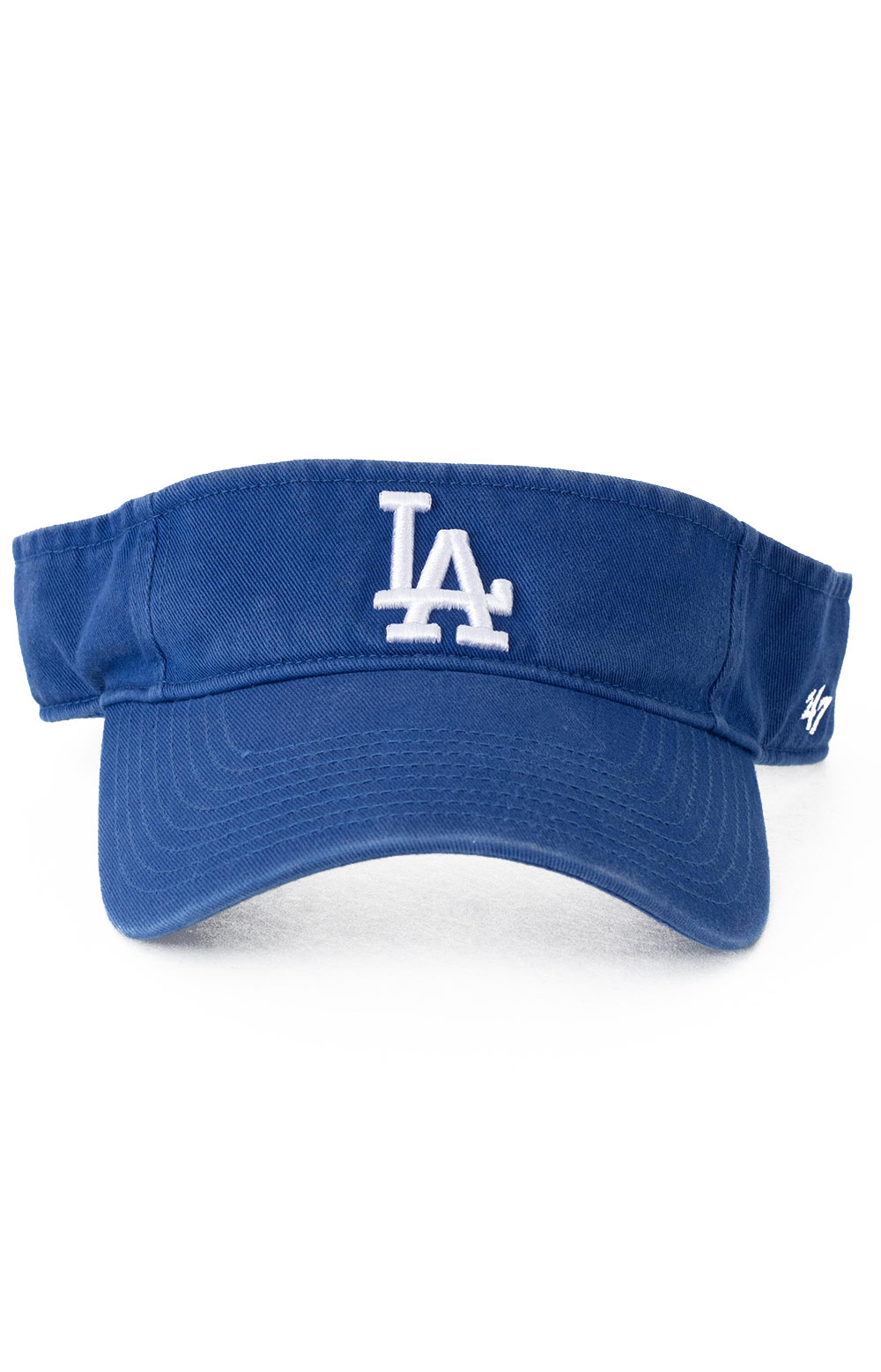 LA Dodgers 47 Clean Up Visor - Royal Blue 2
