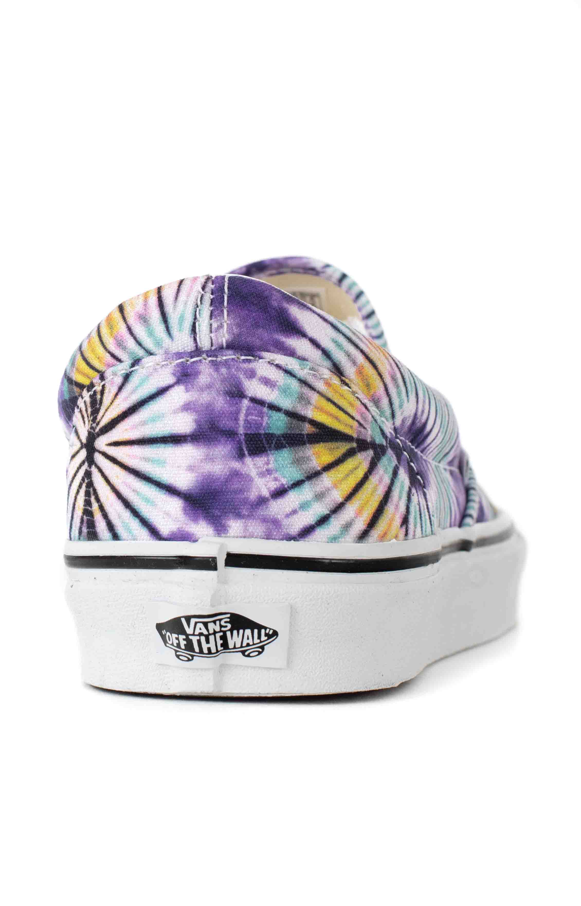 (AO86G6) New Age Classic Slip-On Shoes - Purple Tie-Dye  5