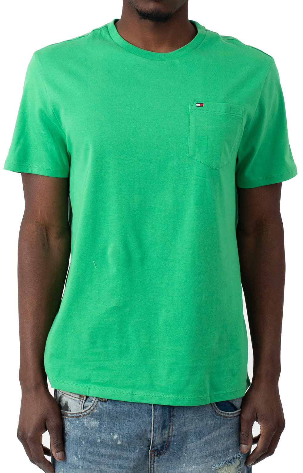 Tommy Crew T-Shirt - Kelly Green