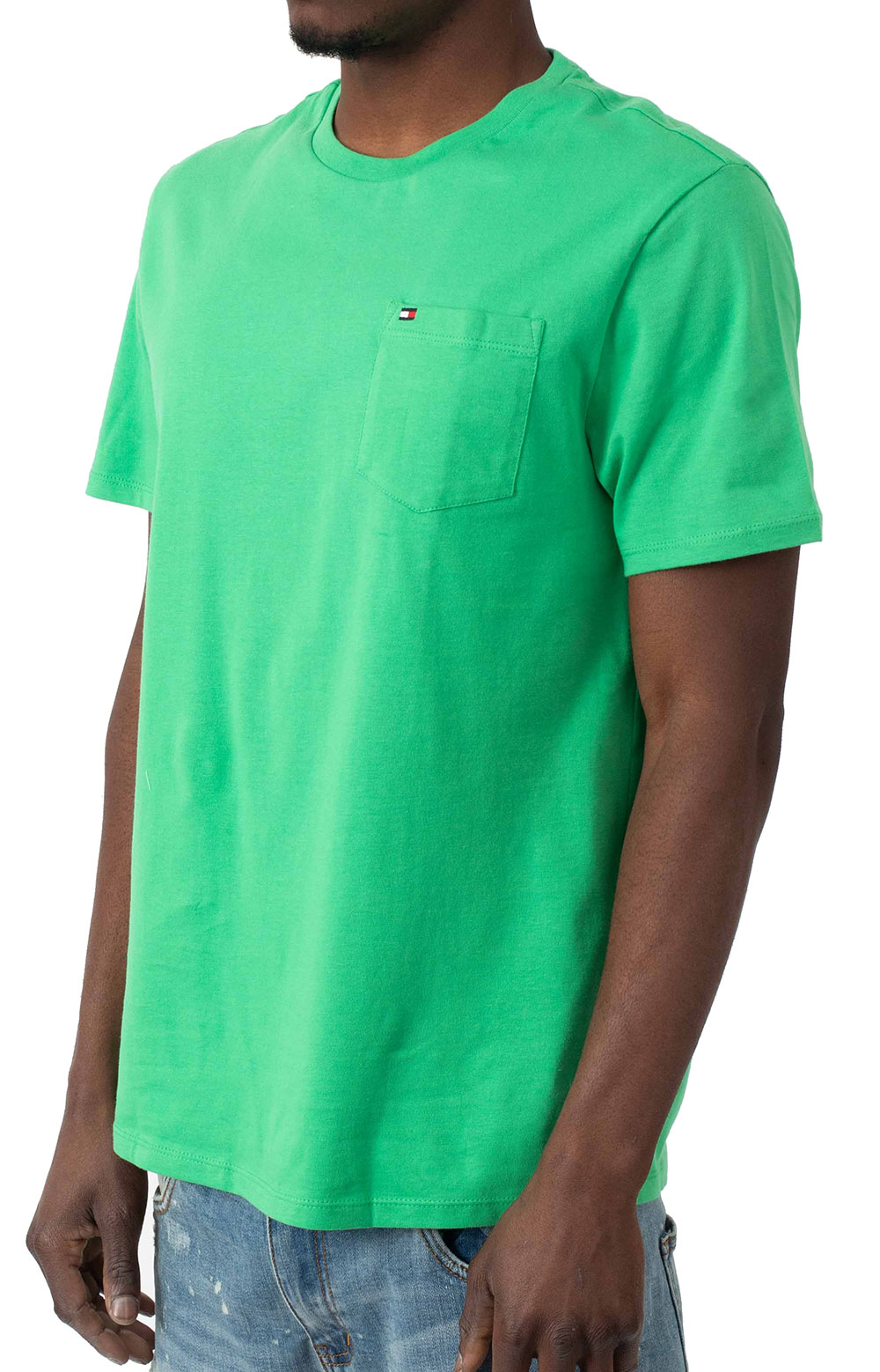 Tommy Crew T-Shirt - Kelly Green  2