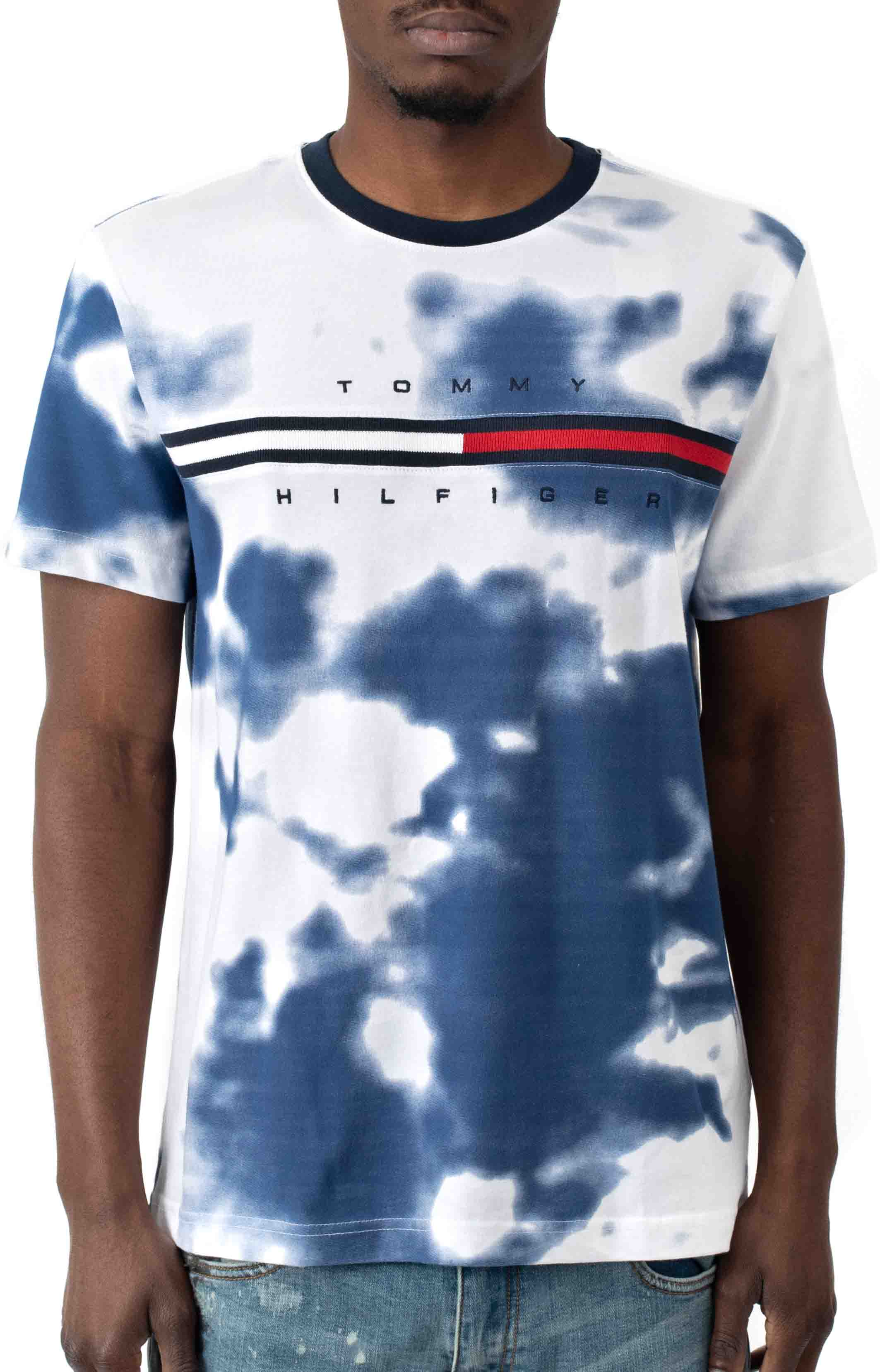 Tino Tie-Dye T-Shirt - Bright White
