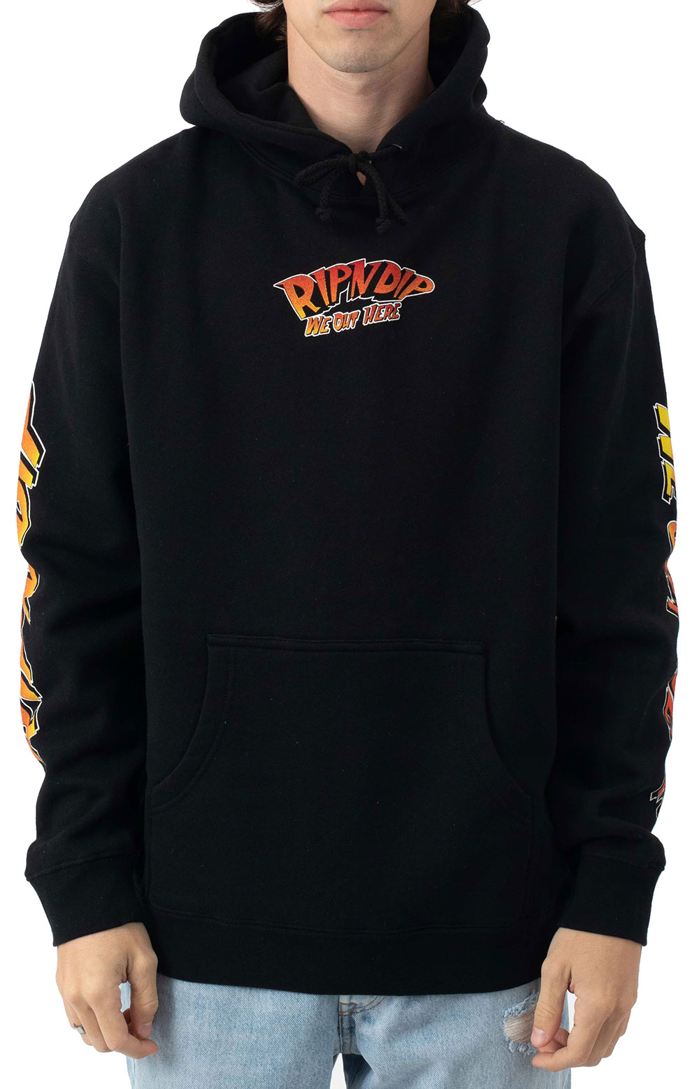Out Of This World Pullover Hoodie - Black