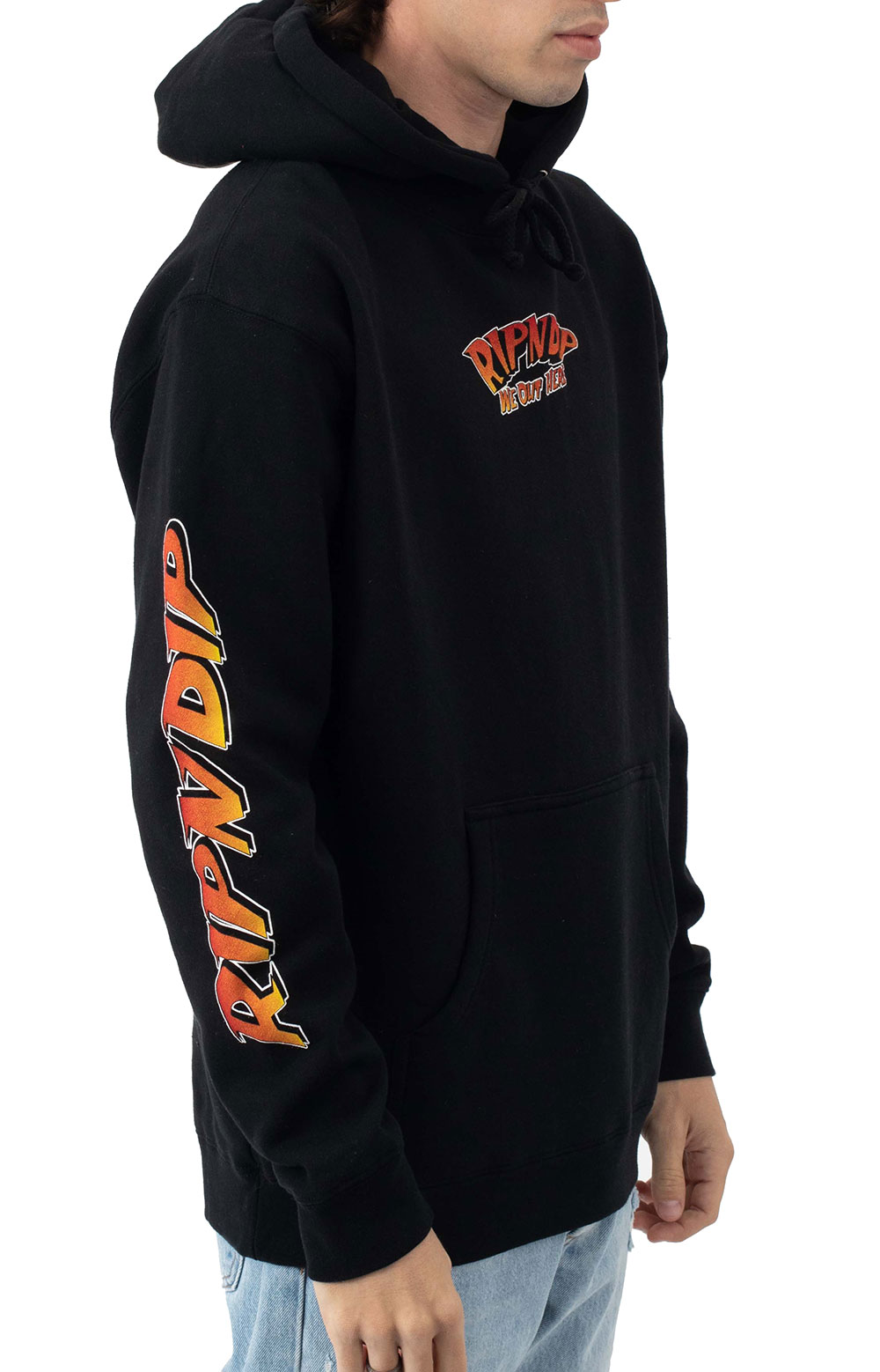 Out Of This World Pullover Hoodie - Black  3