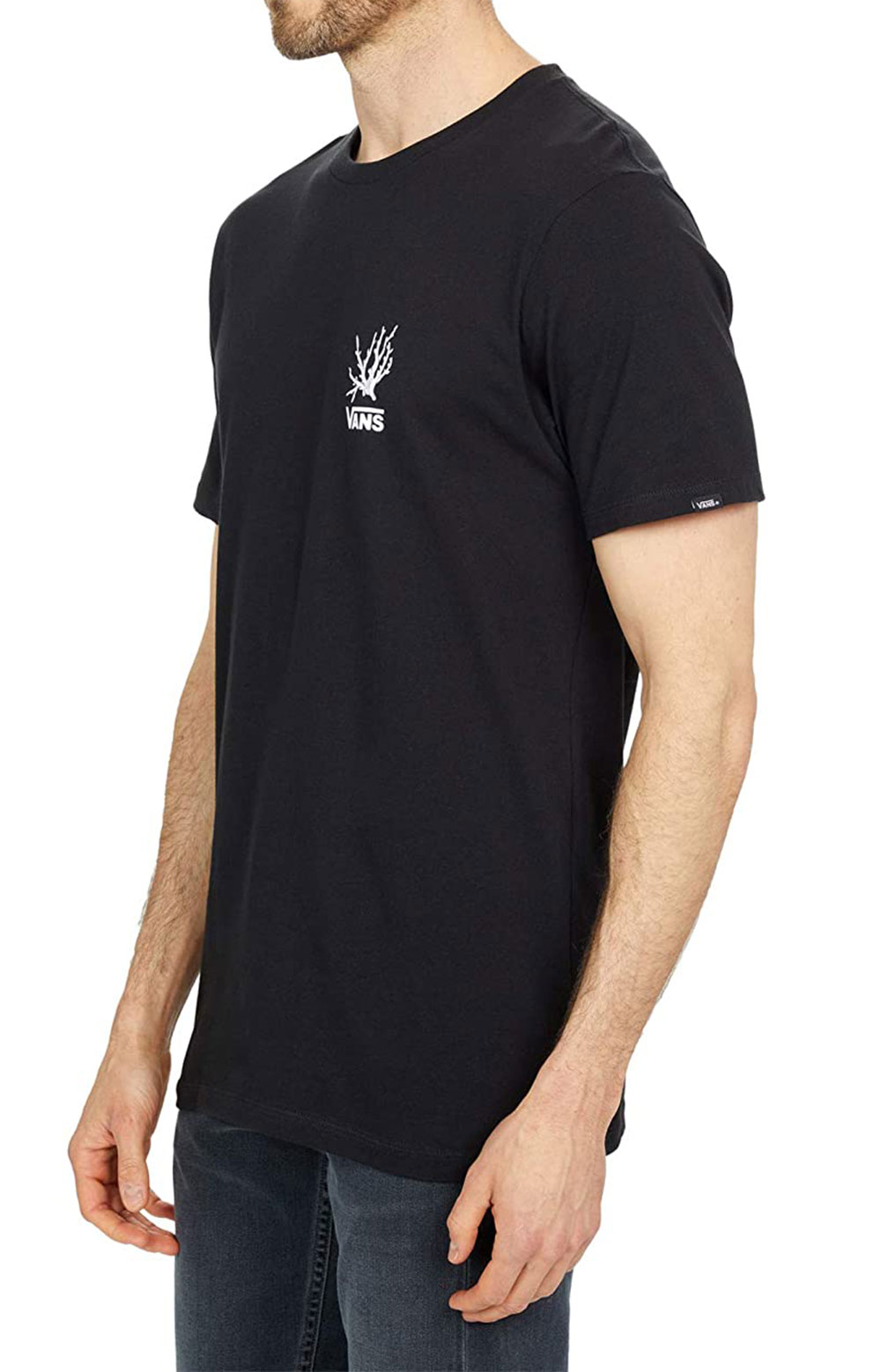 Reality Coral T-Shirt - Black  2